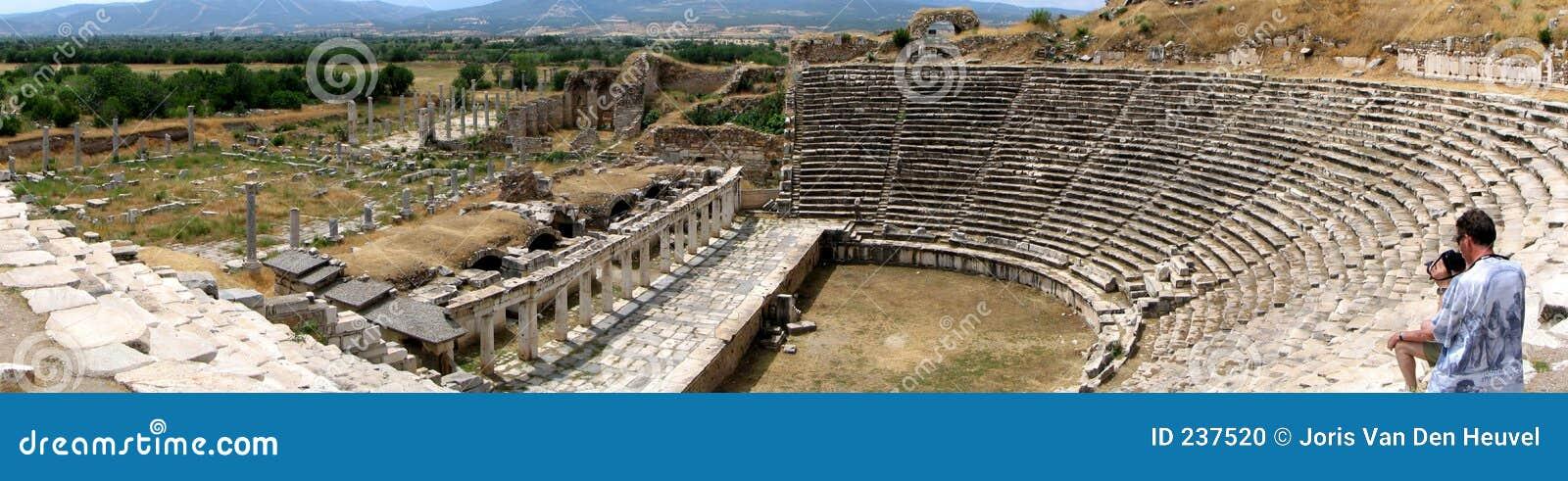 Forntida grekisk theatre