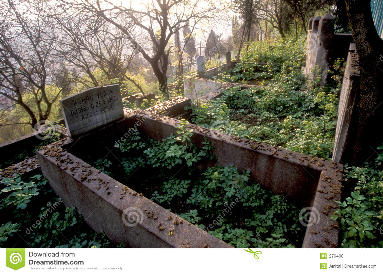 Forntida kyrkogård