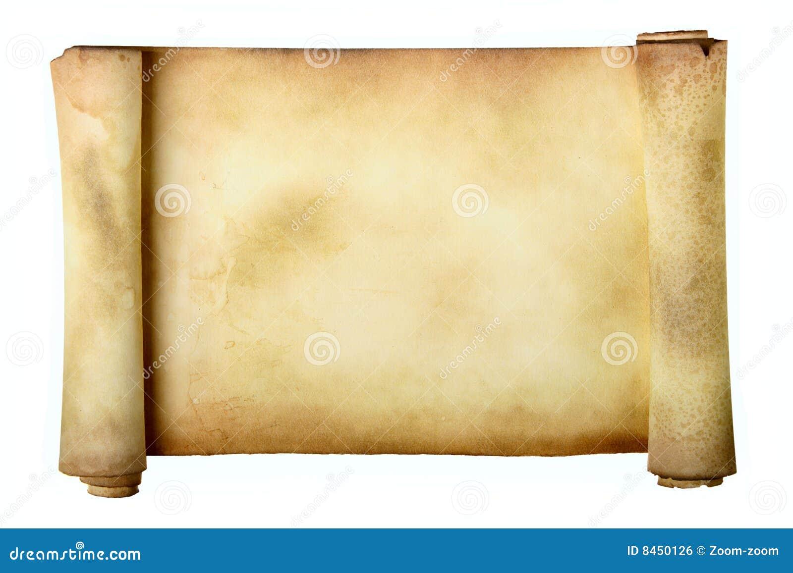 Forntida scroll