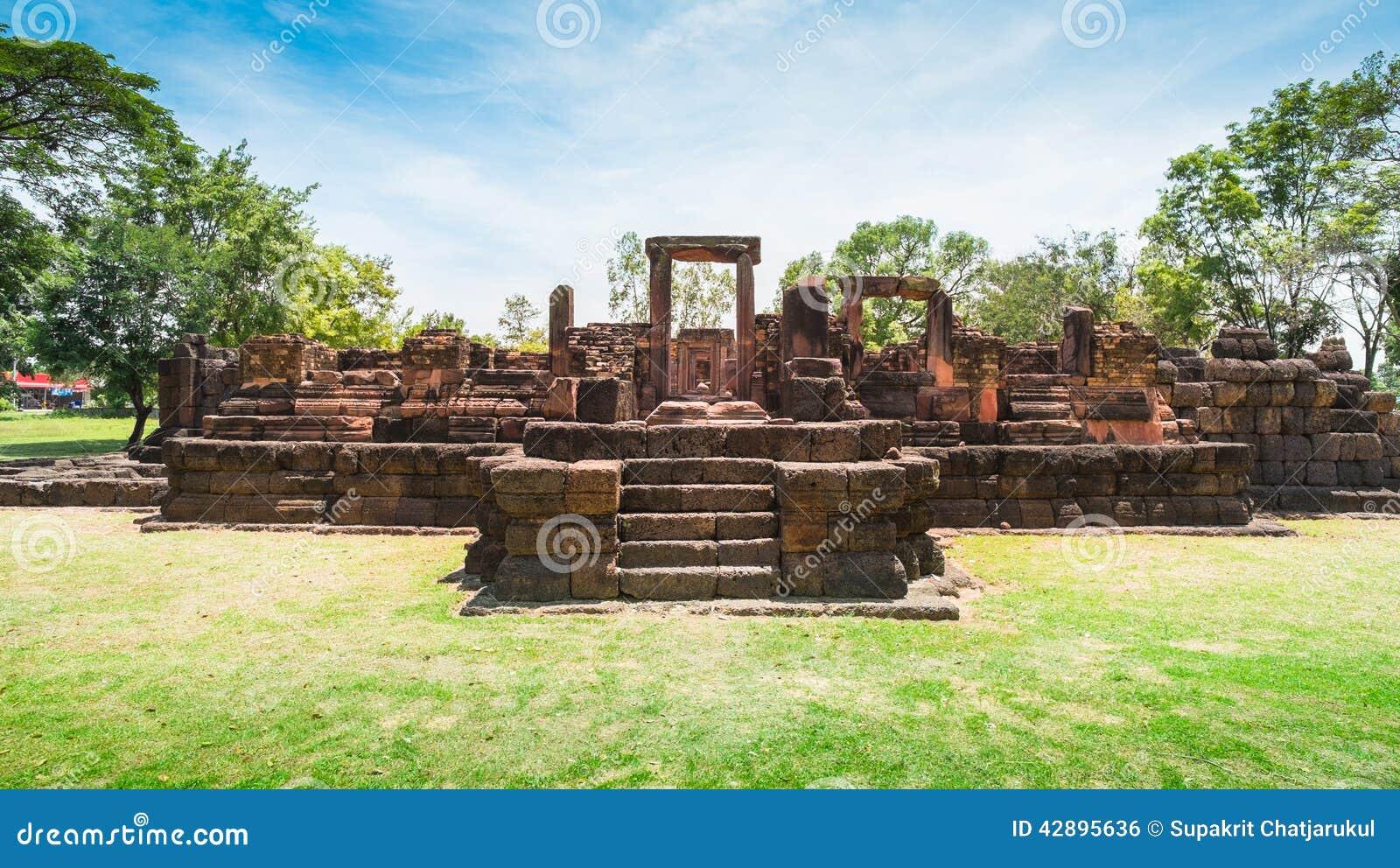 Forntida stenslott, Thailand