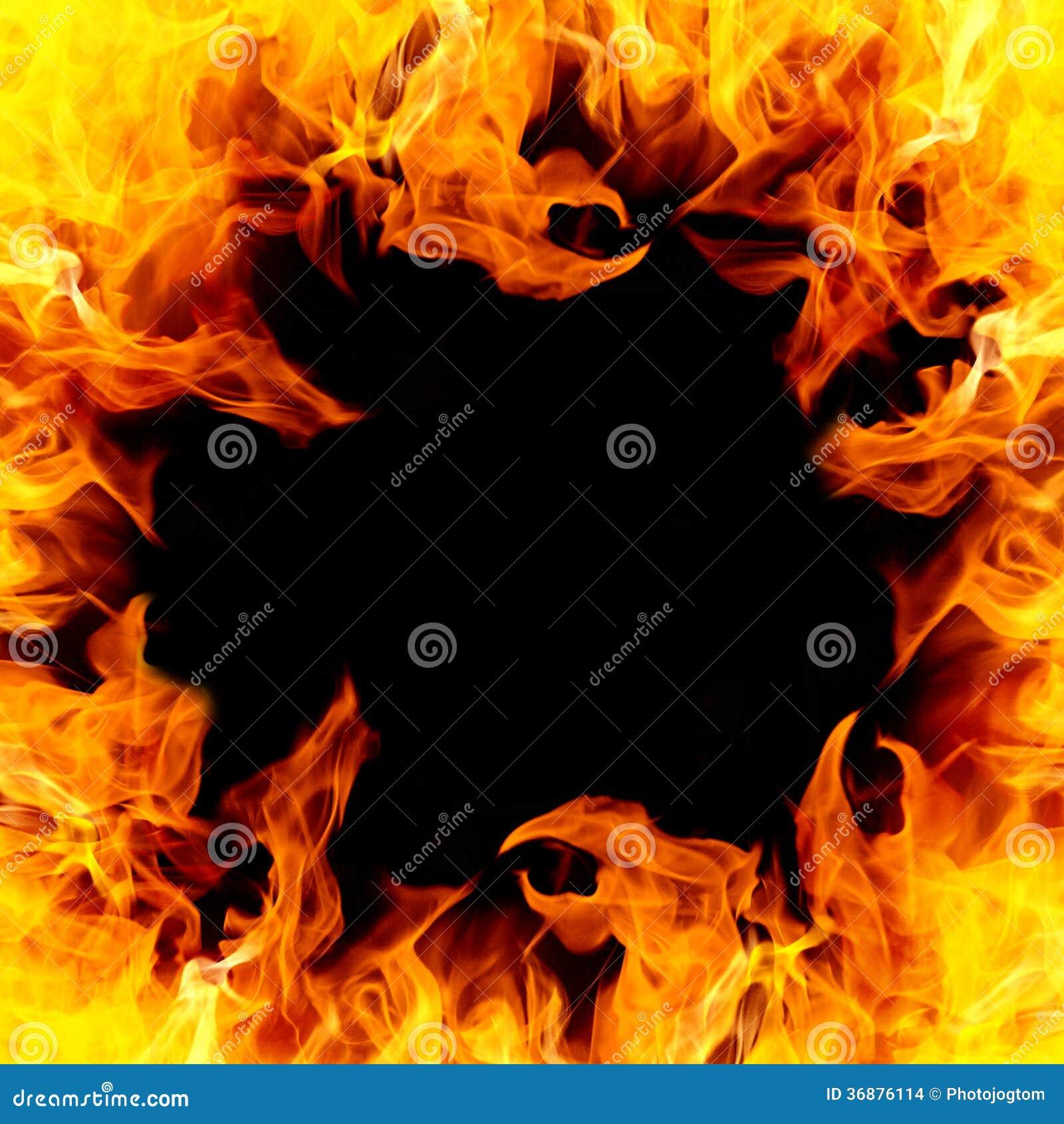 Download Foro del fuoco fotografia stock. Immagine di glowing - 36876114