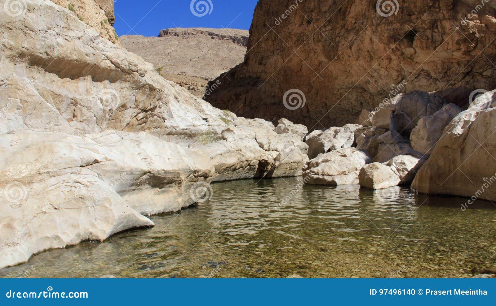 Foro del rocke dell oasi con le montagne del rocke