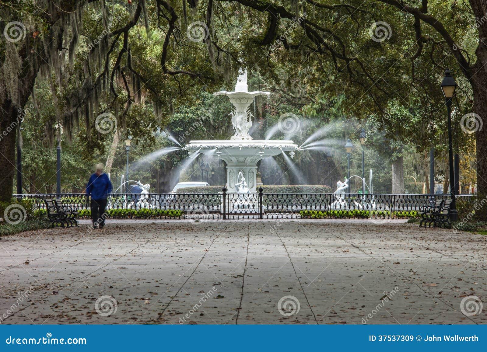 Forsyth park and fountain