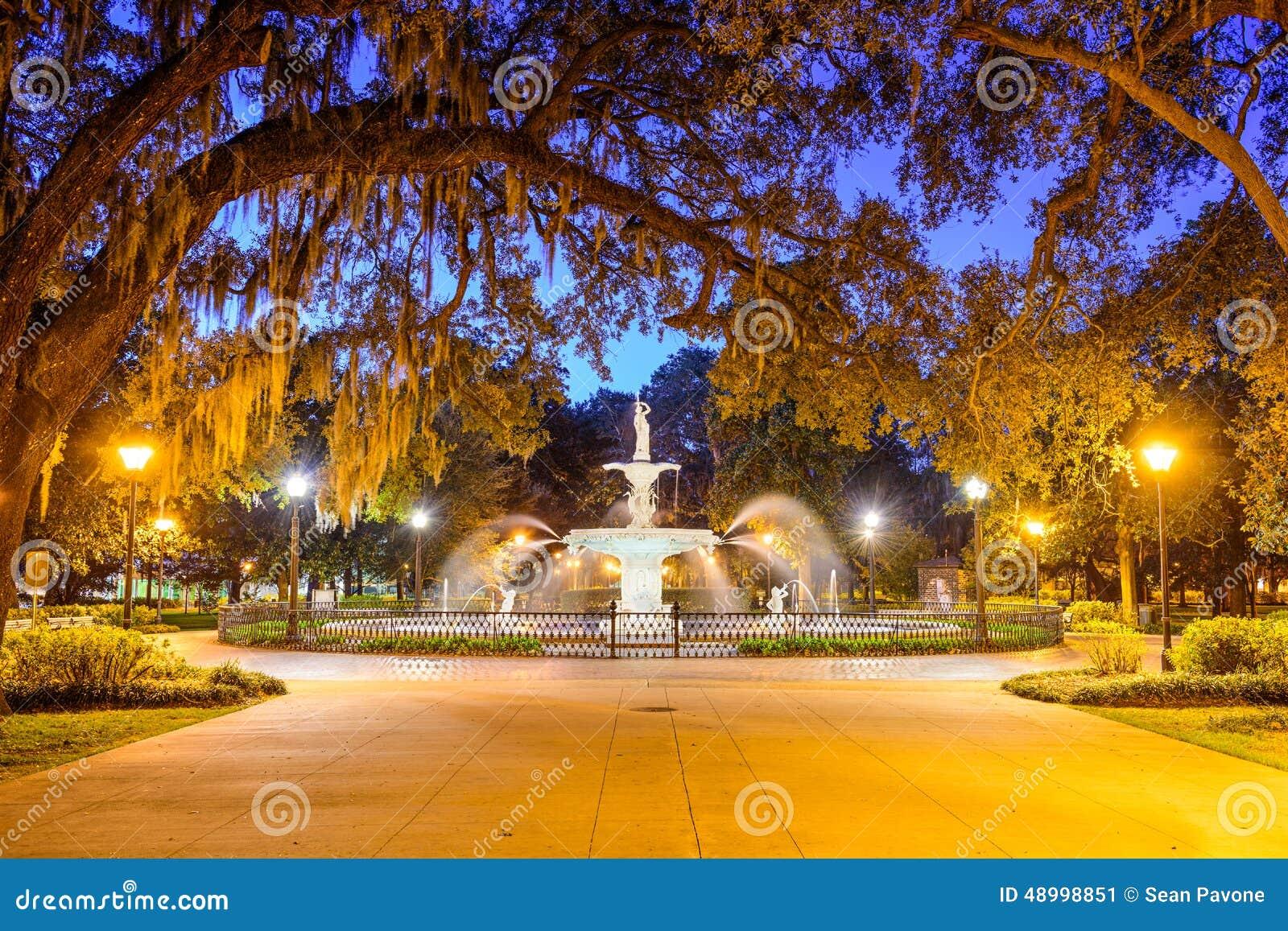 Forsyth Park in Savannah, GA