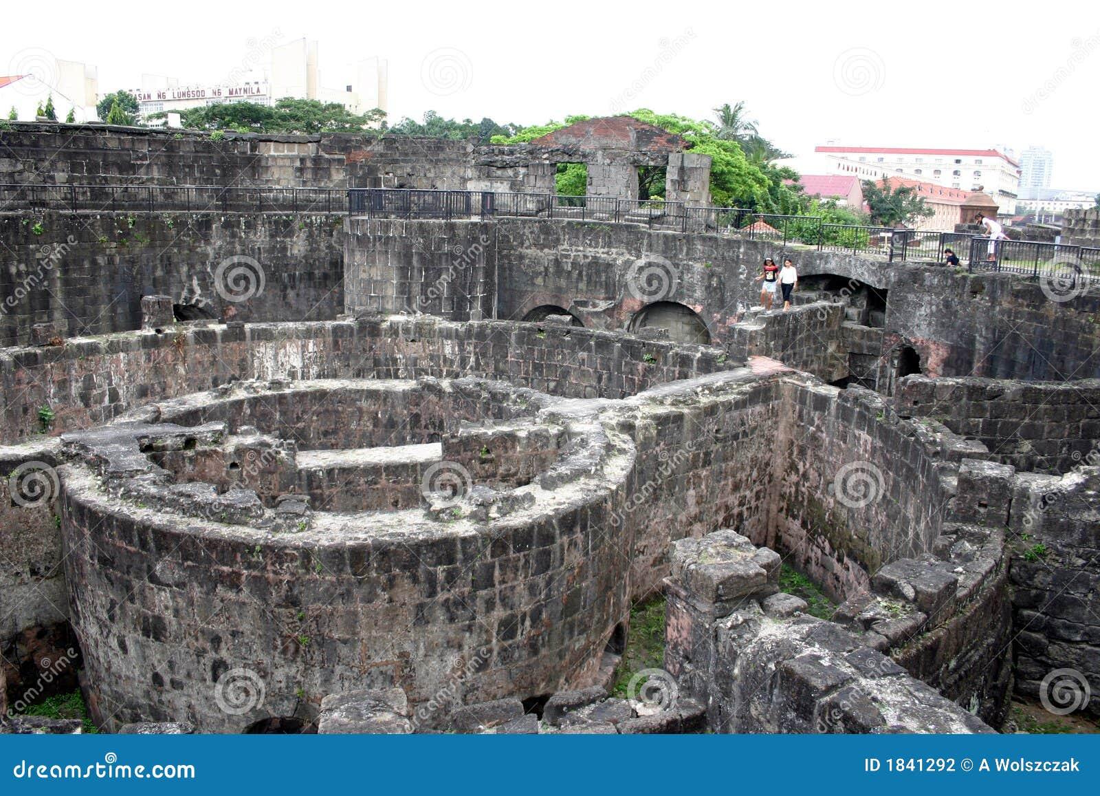 Fort à Manille intra-muros