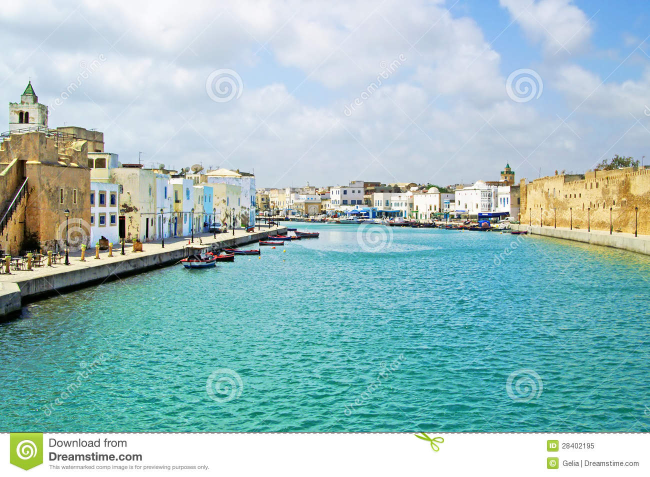 Bizerte Tunisia  City pictures : Fort Of Bizerte, Tunisia Royalty Free Stock Photo Image: 28402195