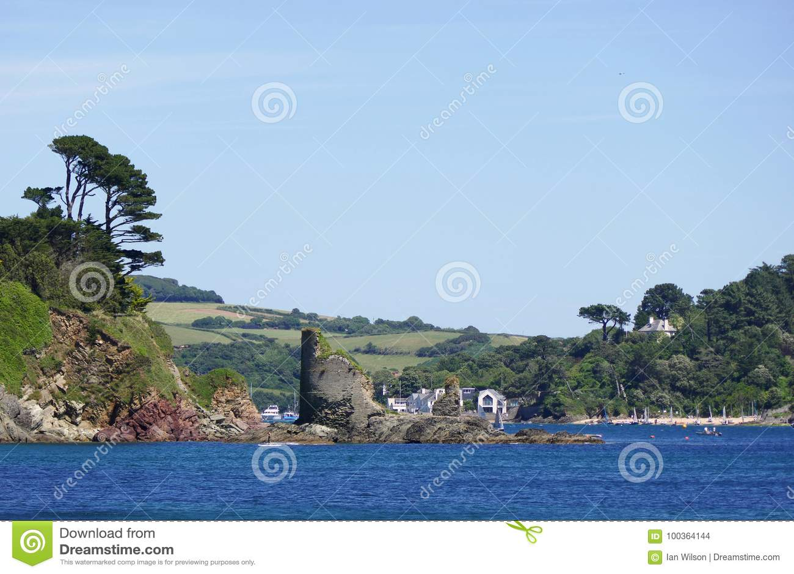 Fort Charles, Salcombe, Devon,