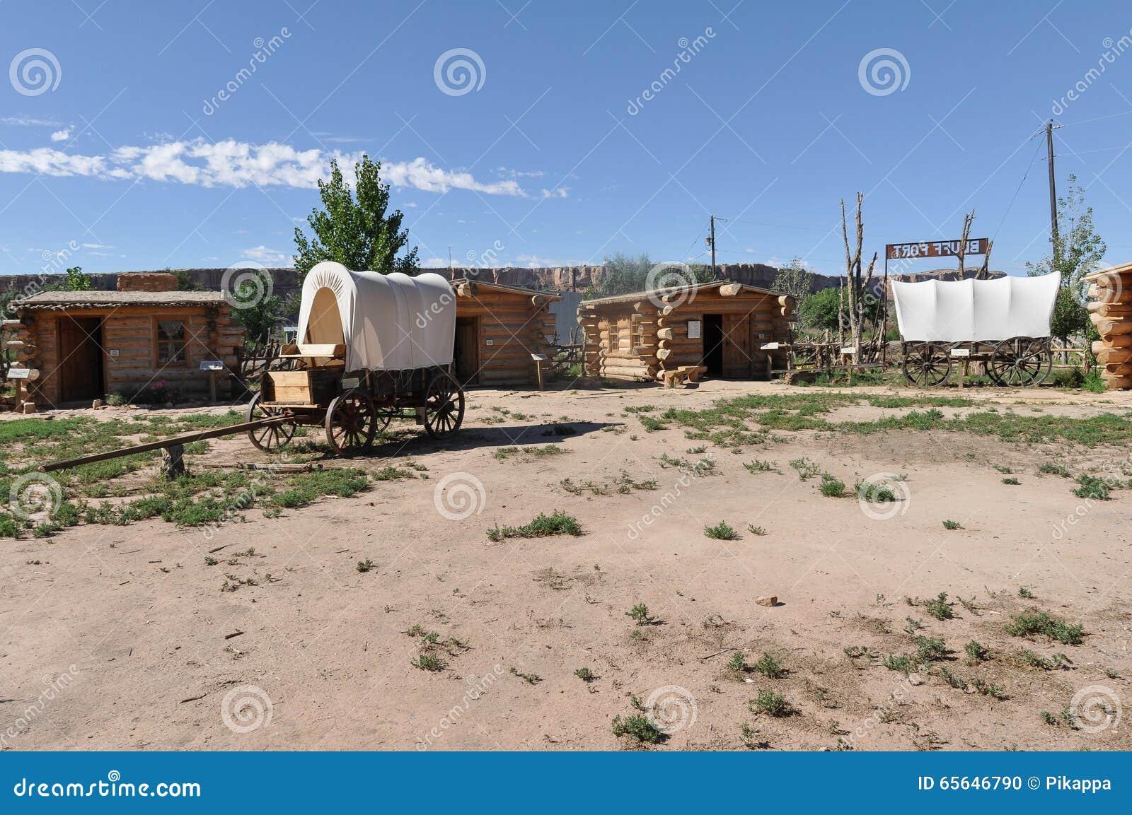 Fort de bluff en Utah