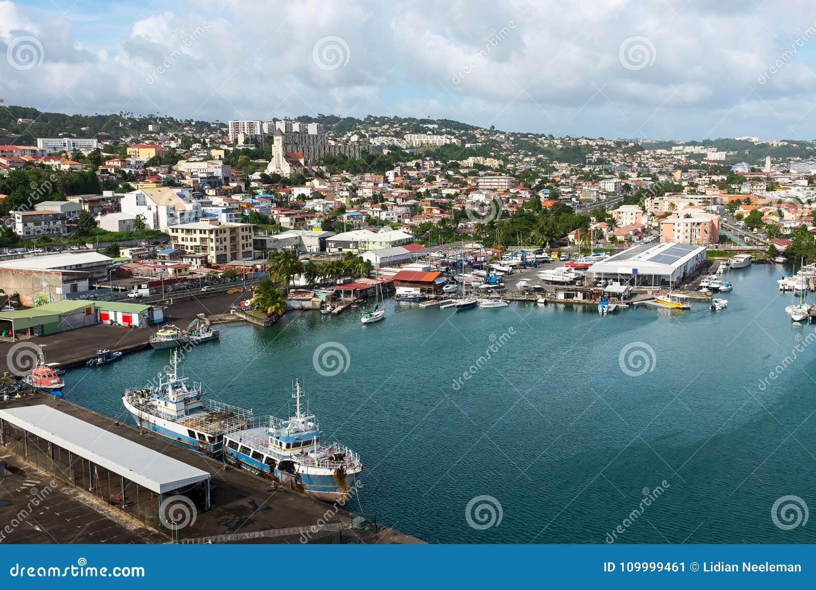 Fort de France στη Μαρτινίκα
