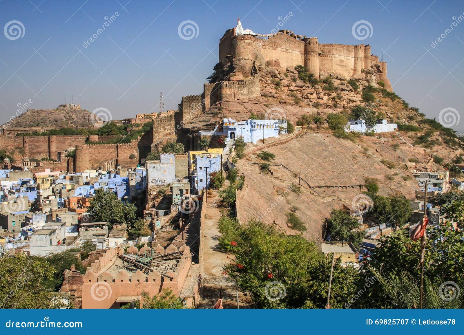 Fort de Mehrangarh, ville bleue, Jodhpur, Ràjasthàn, Inde