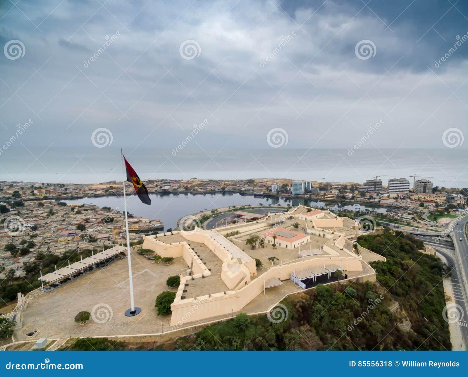 Fort an der Bucht von Luanda, Luanda, Angola