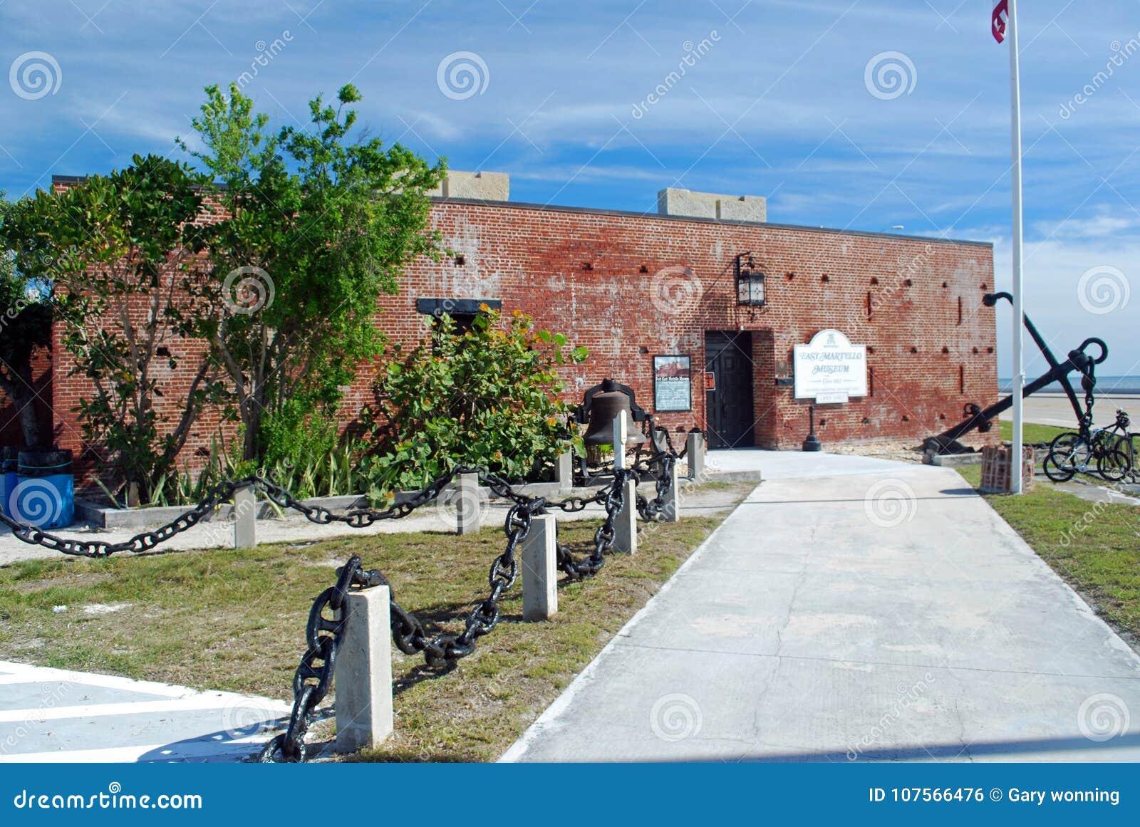 Fort east martello museum