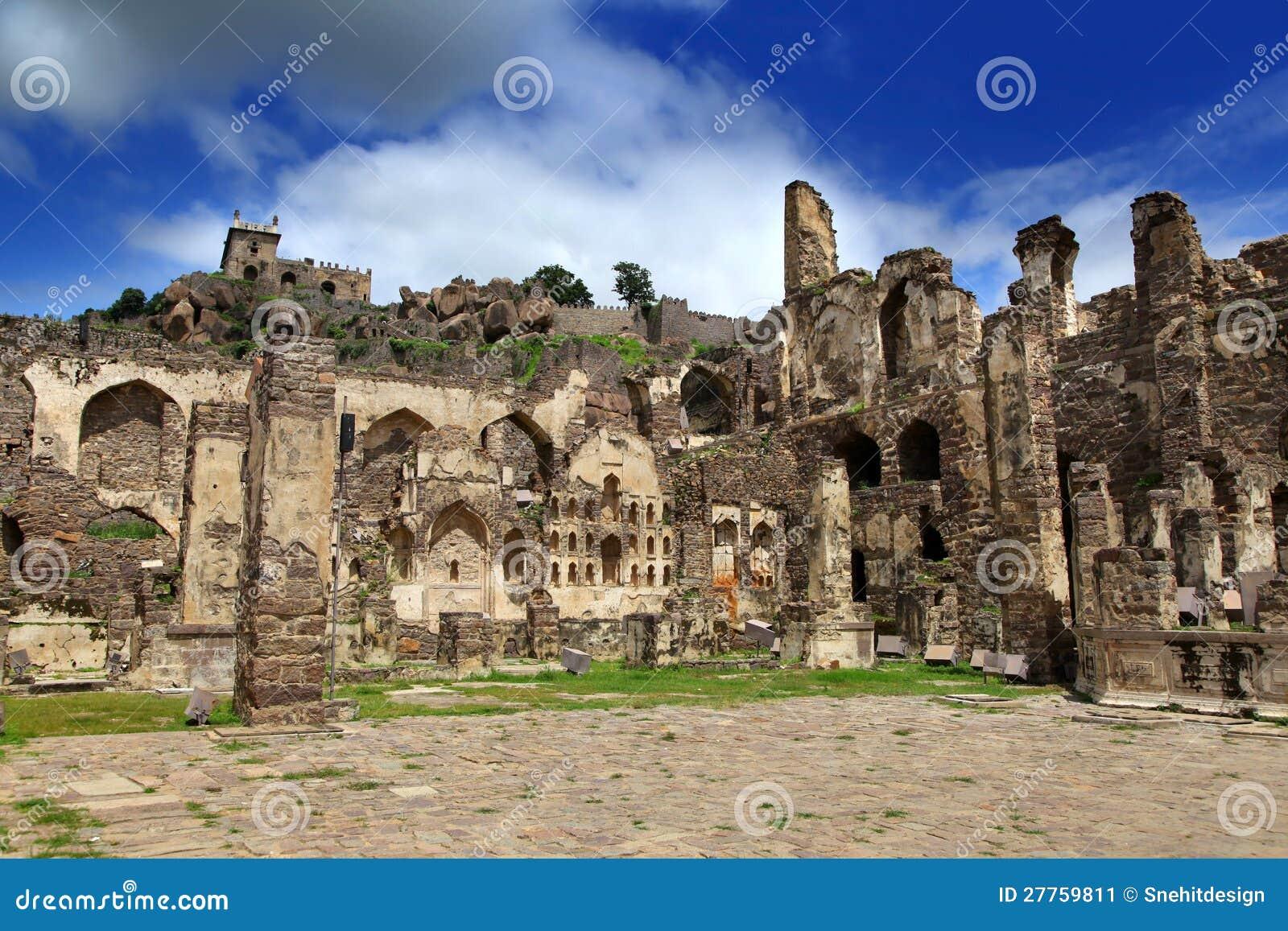 Fort historique de Golkonda