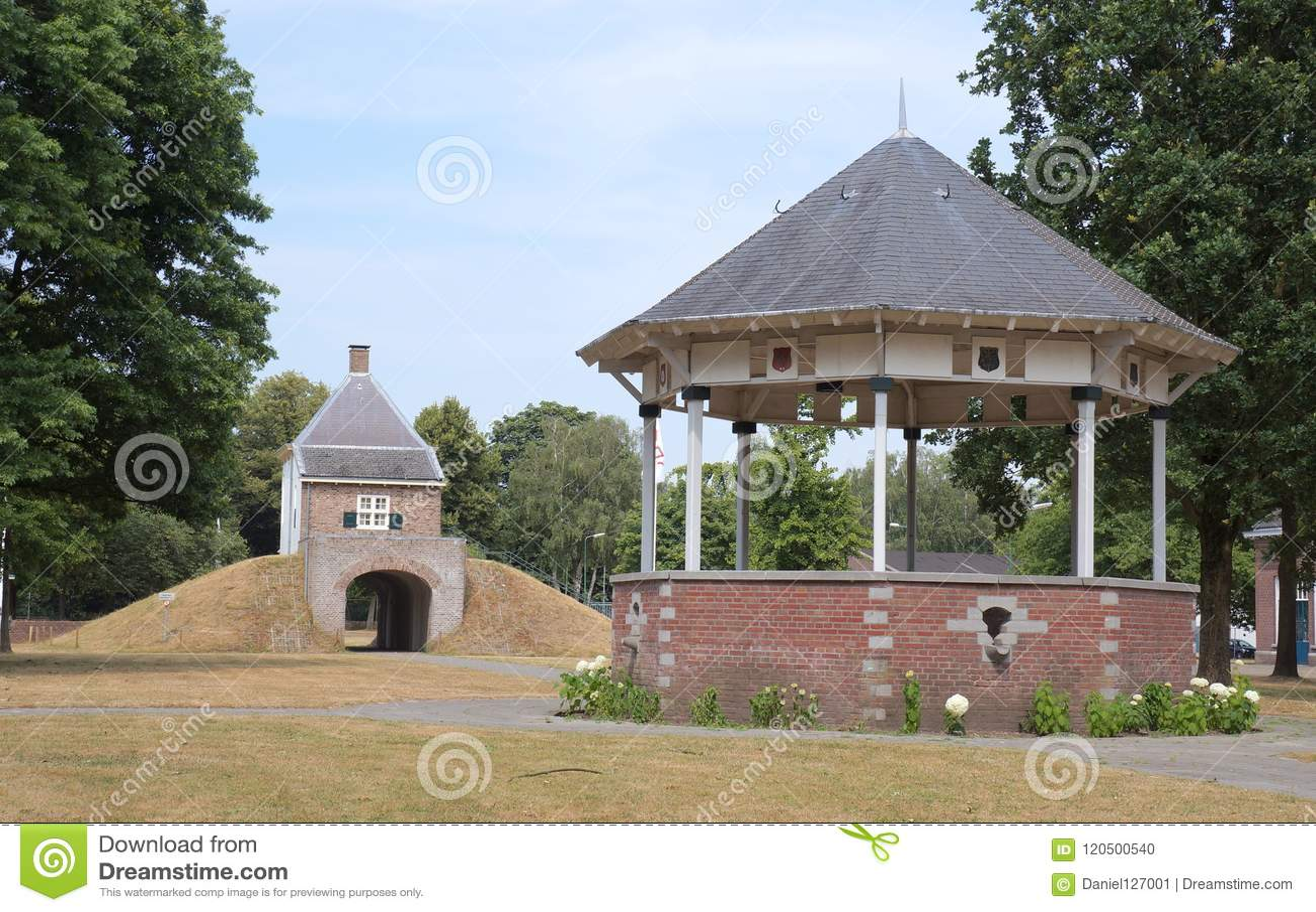 Fort Isabella i Vught, Nederländerna