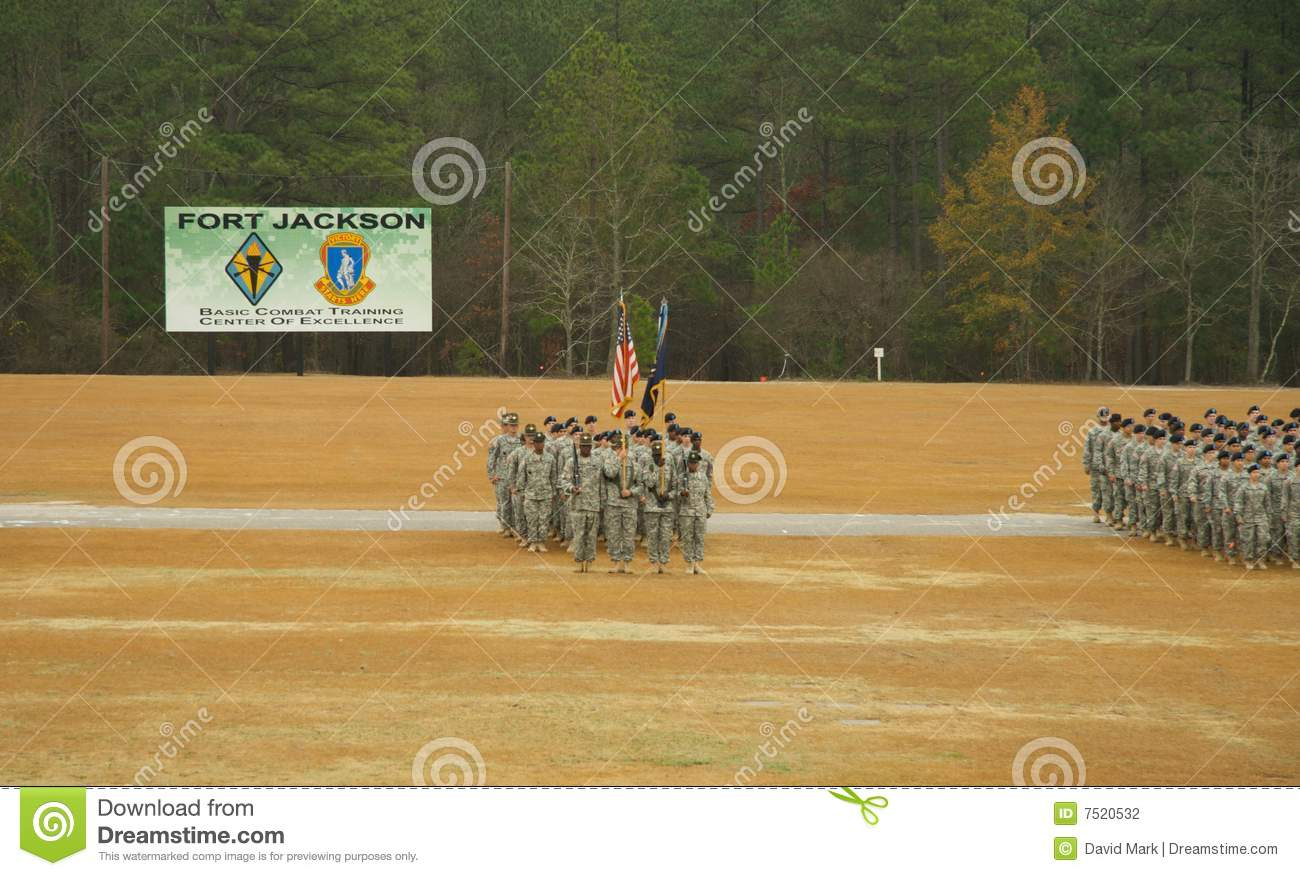 Fort Jackson Parade Editorial Photography Image 7520532