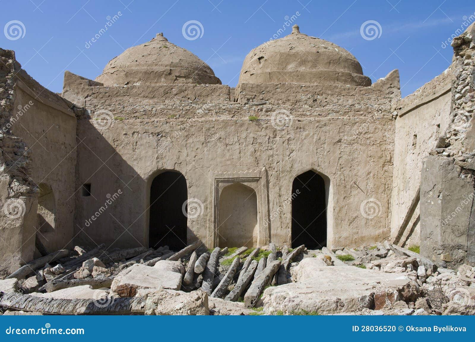 Fort jalan bani bu ali hammouda al qala sultanate of oman middle