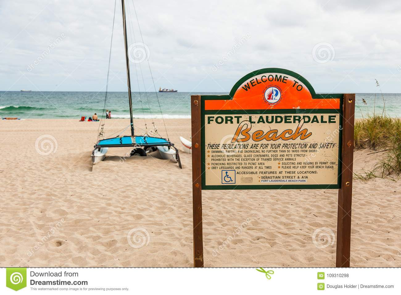 Editorial Who Is Looking Out For These >> Fort Lauderdale Beach In Florida Editorial Stock Photo Image Of