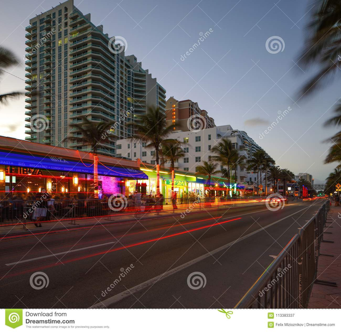 Fort Lauderdale Beach Florida USA Editorial Photography