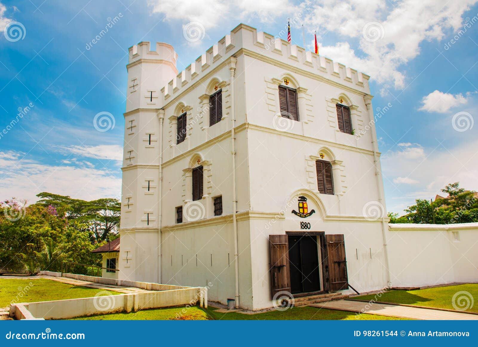 Fort Margherita in Kuching sarawak maleisië borneo
