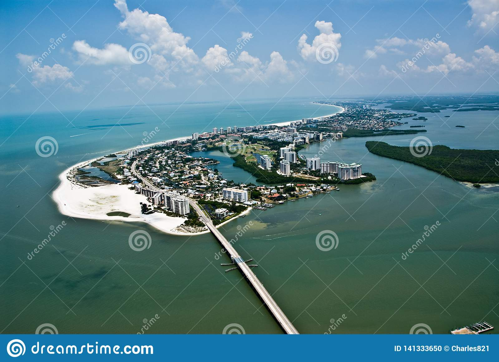 Fort Myers Florida Island Aerial Foto