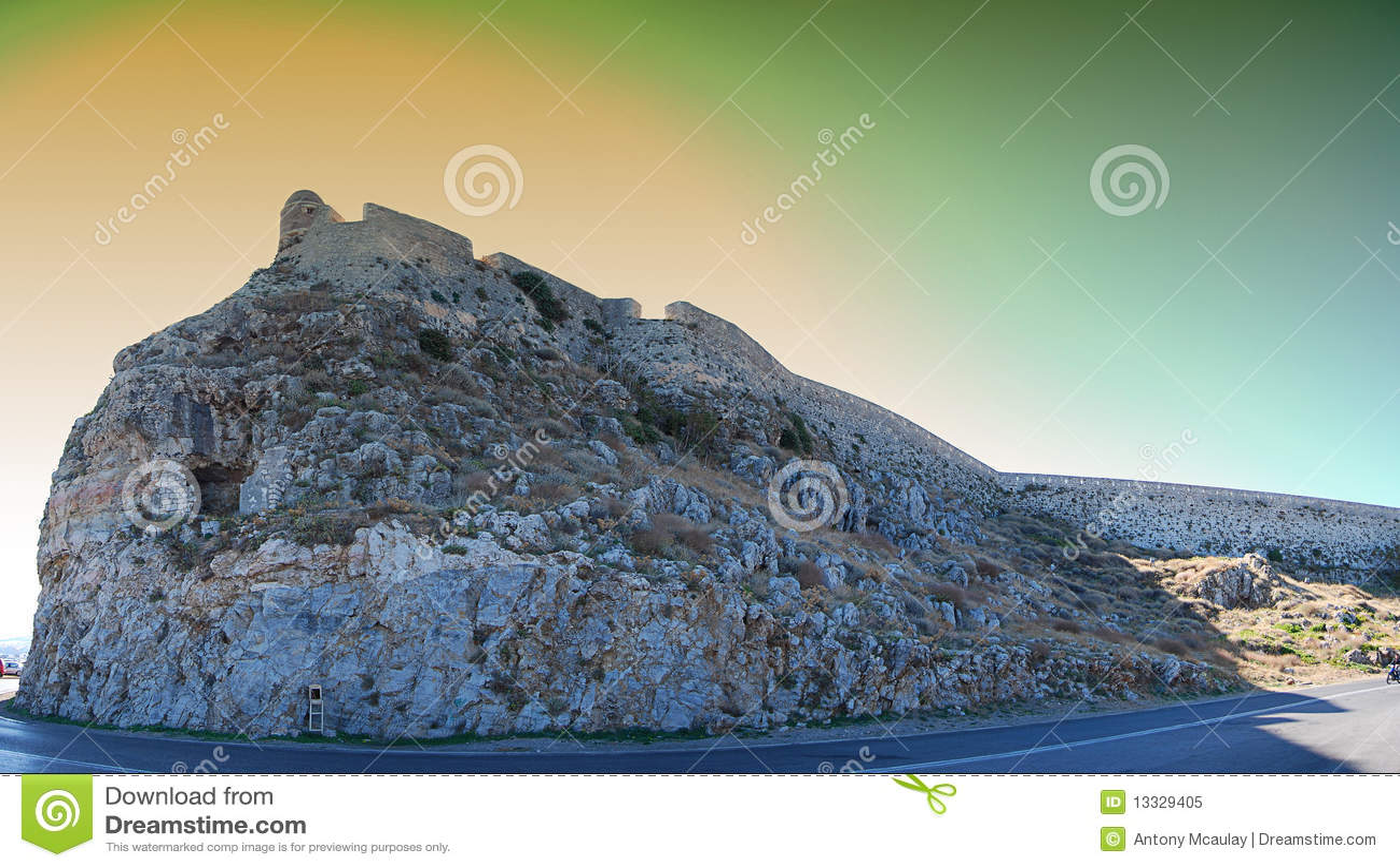 Fort panorama Rethymnon