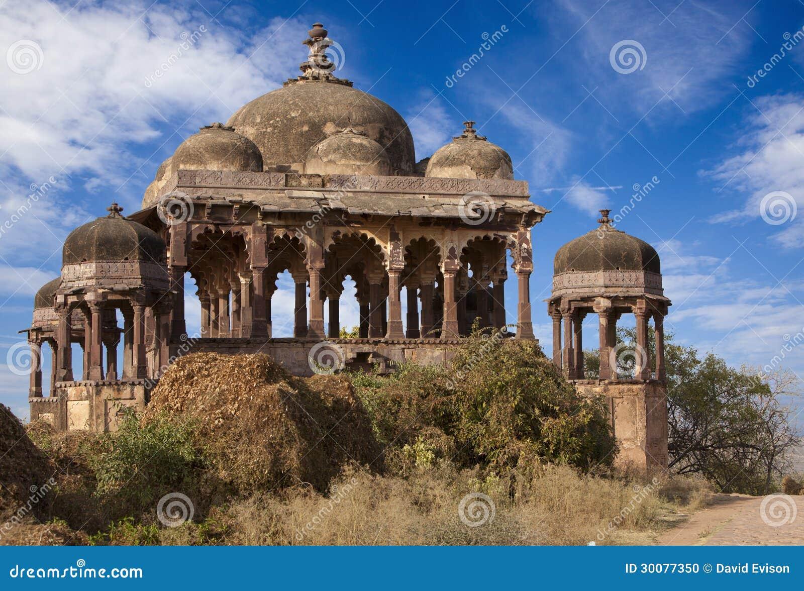 Het Fort van Ranthambhore.