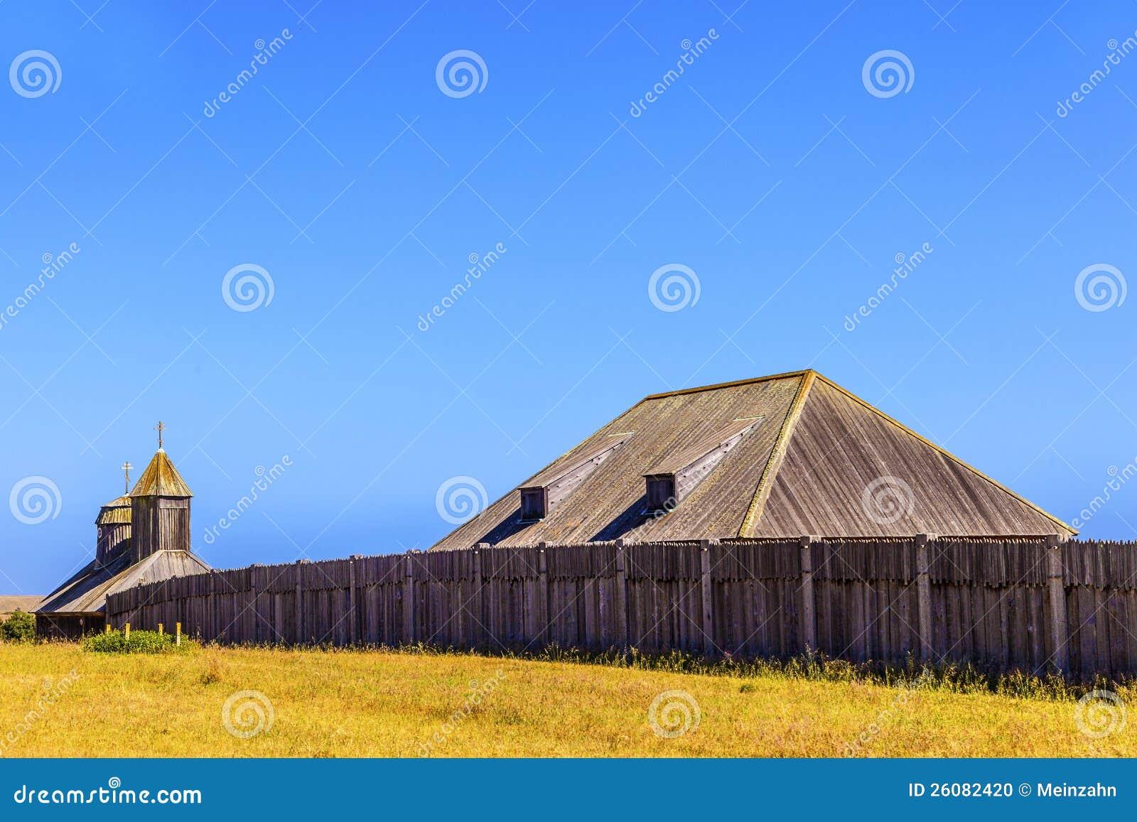 Fort Ross State Historic Park in Provincie Sonoma