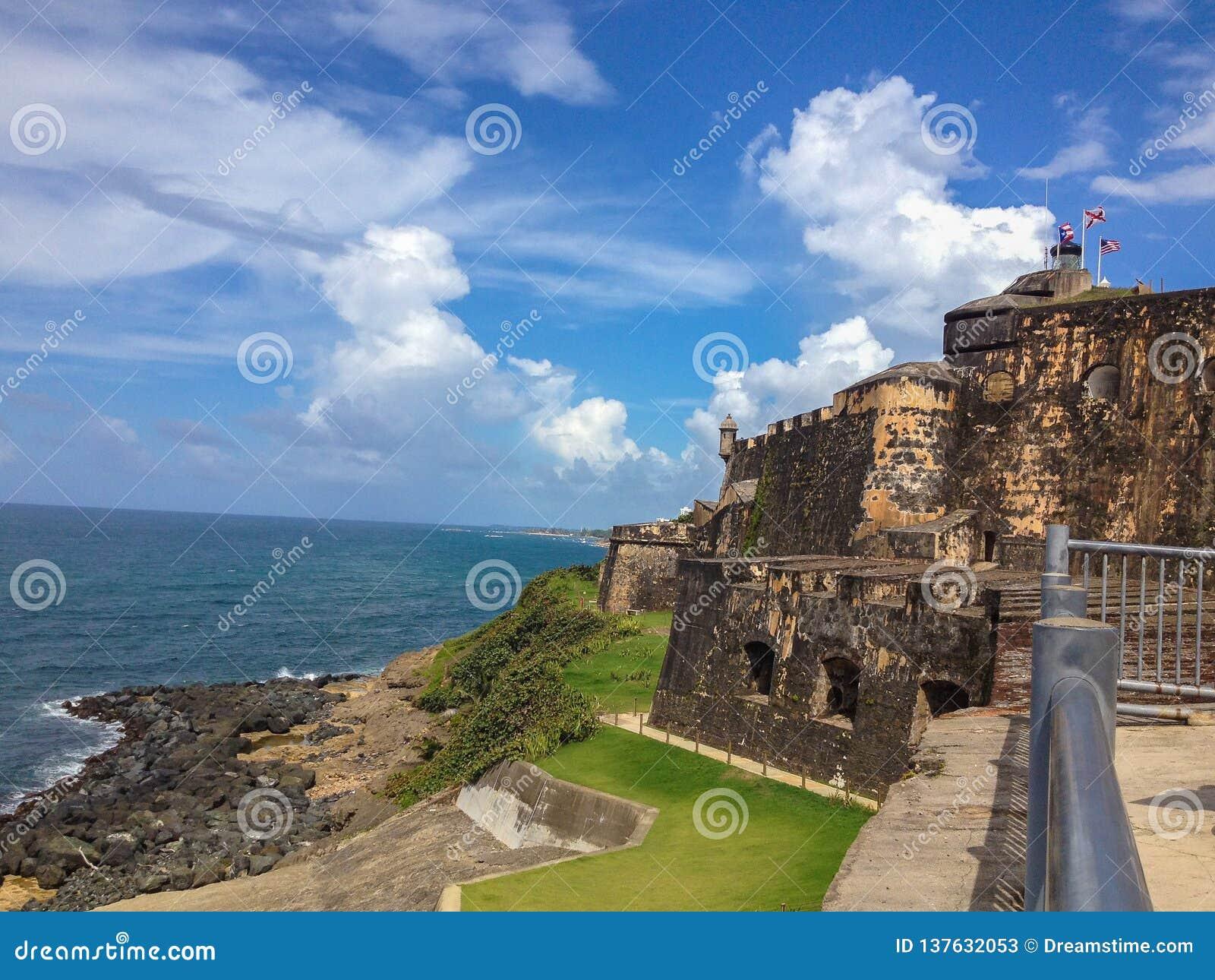 """Fort San Juan Puerto Rico de """"EL Morro """""""