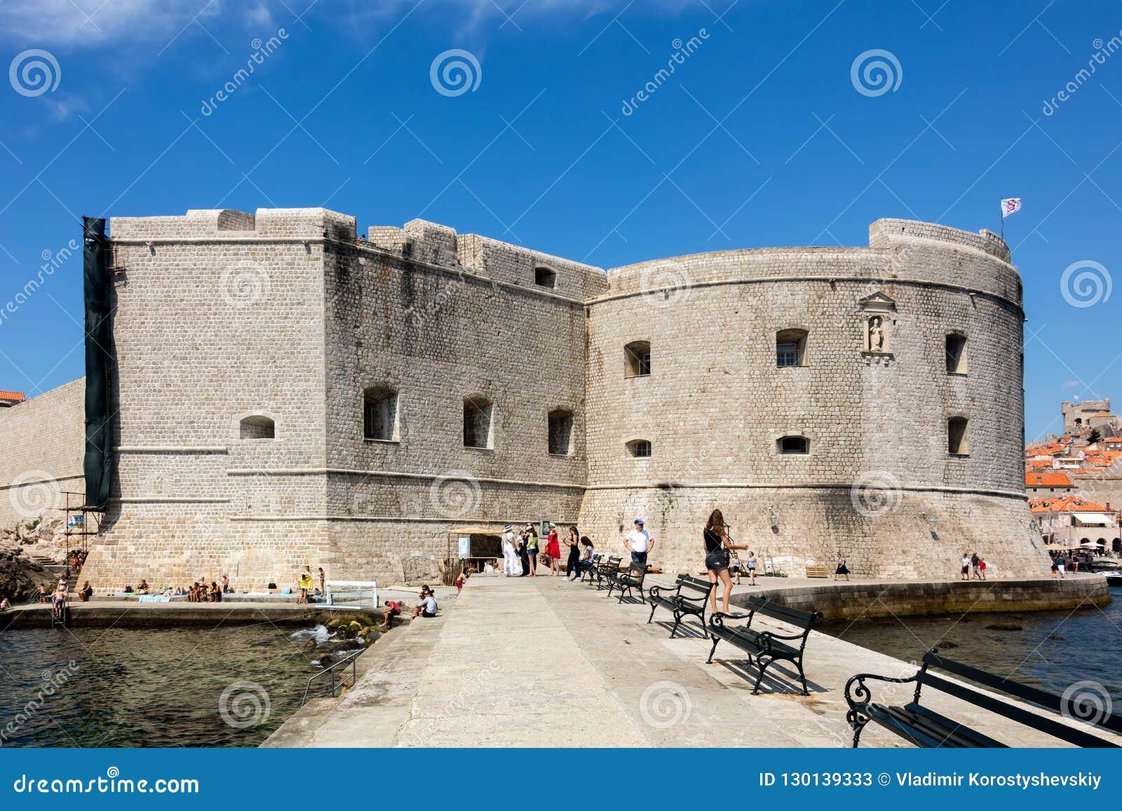 Fort St John w Dubrovnik, Chorwacja,