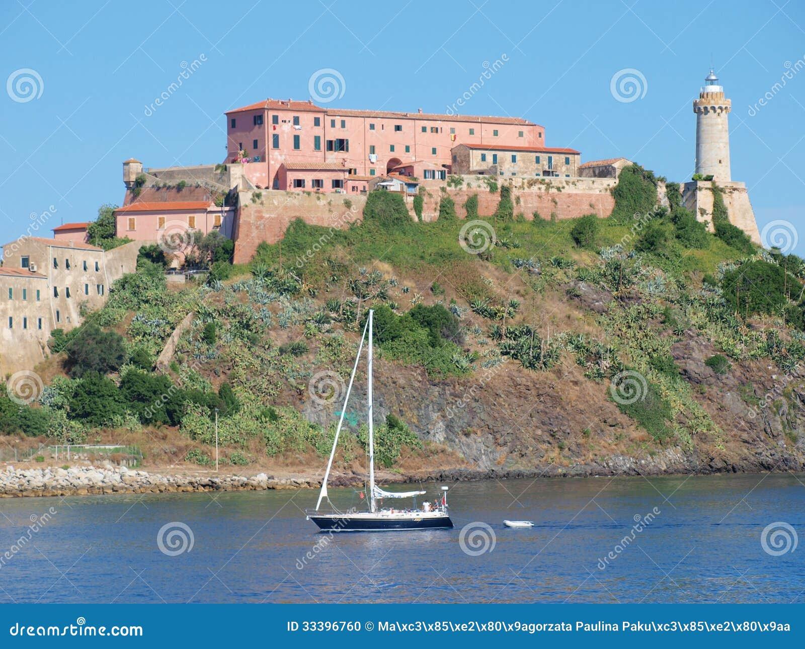 Fort Stella, Portoferraio, Elba, Italy
