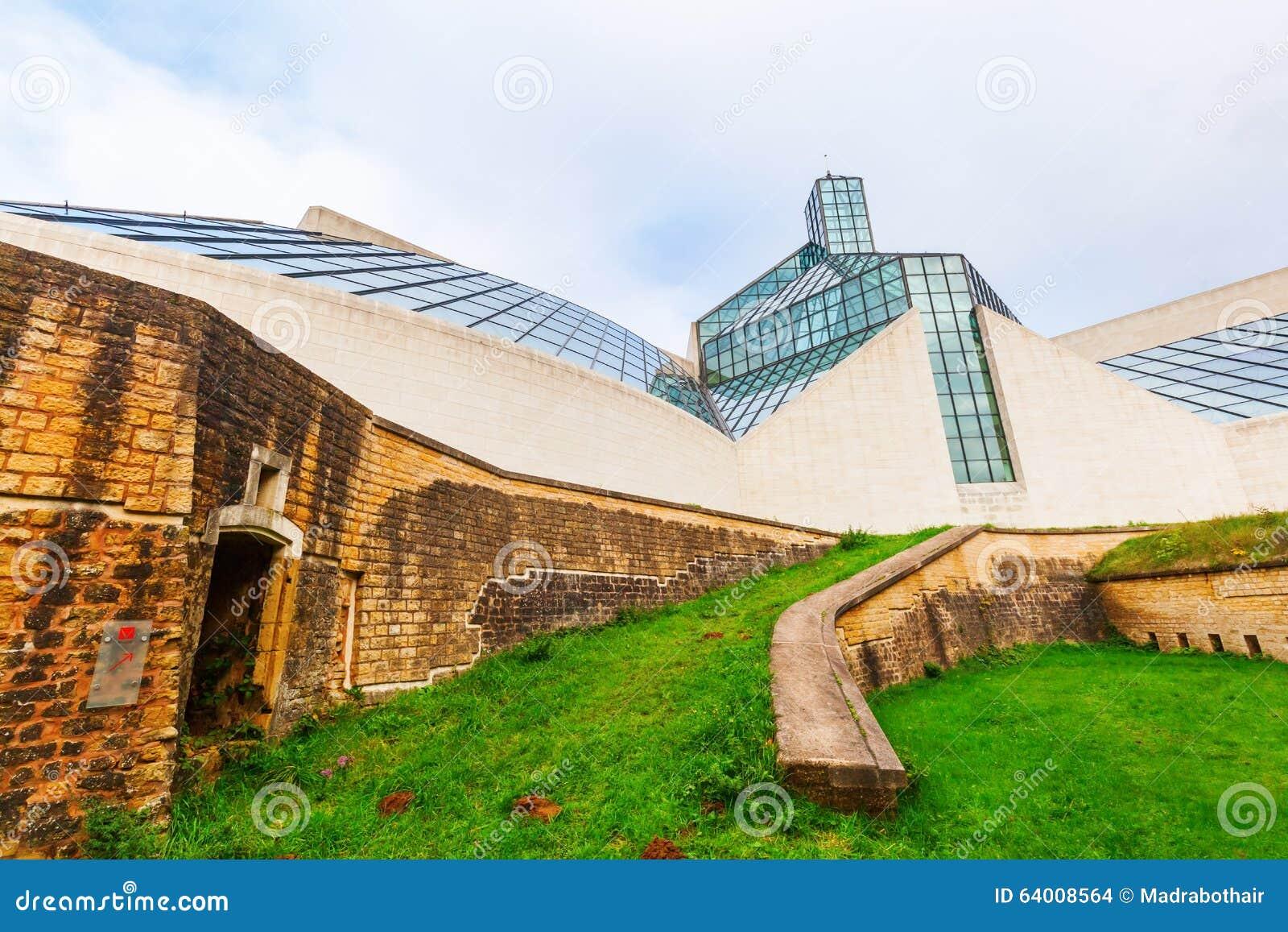 Modern Art Museum Luxembourg Mudam