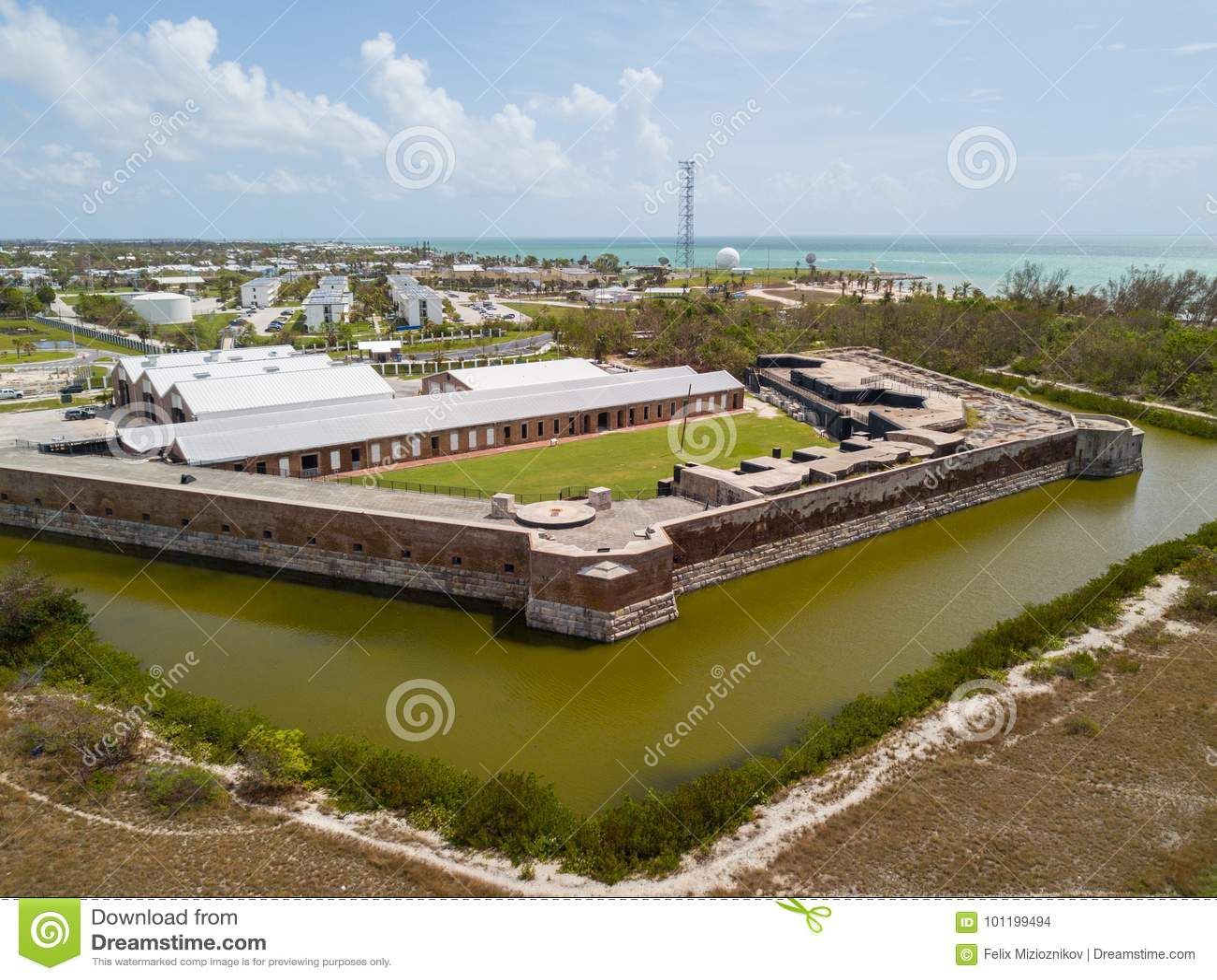 Fort-Zachary Taylor Key West-Antennenbild