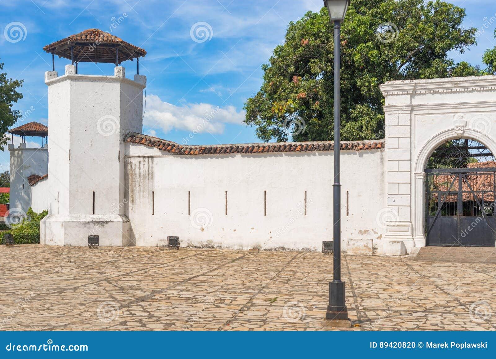 Fortaleza de la Polvorais em Granada, Nicarágua