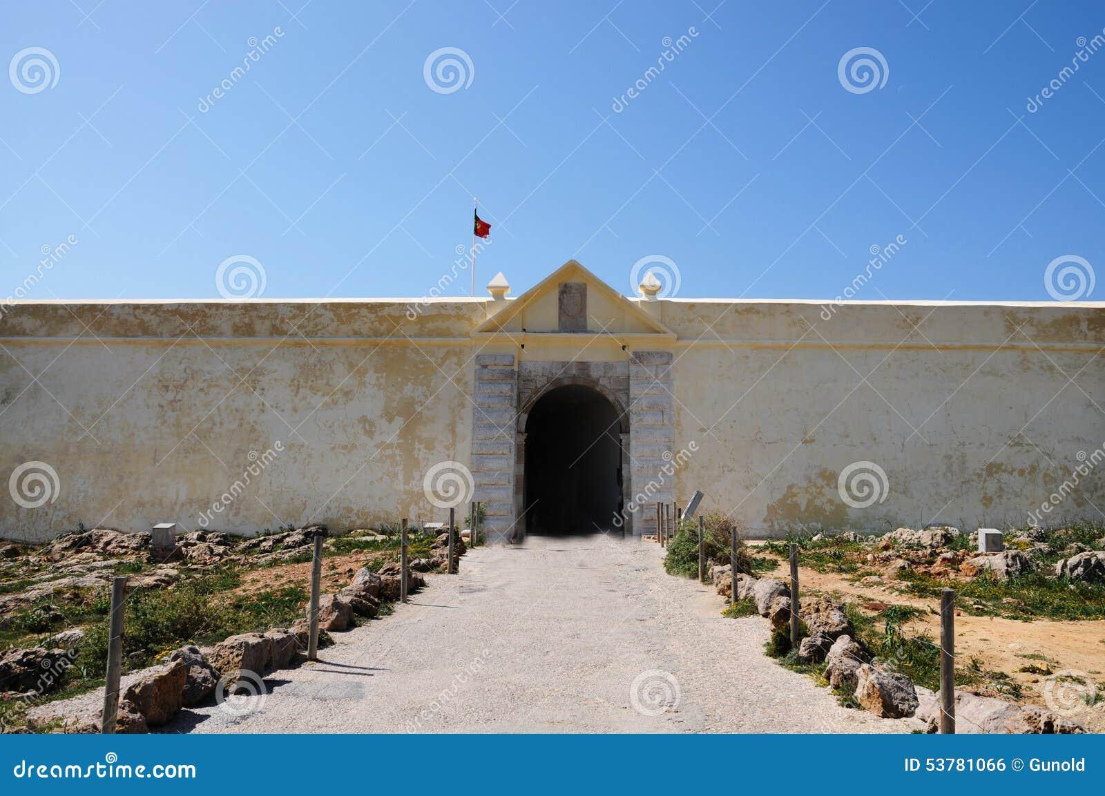 Fortaleza De Sagres (Sagres forteca)