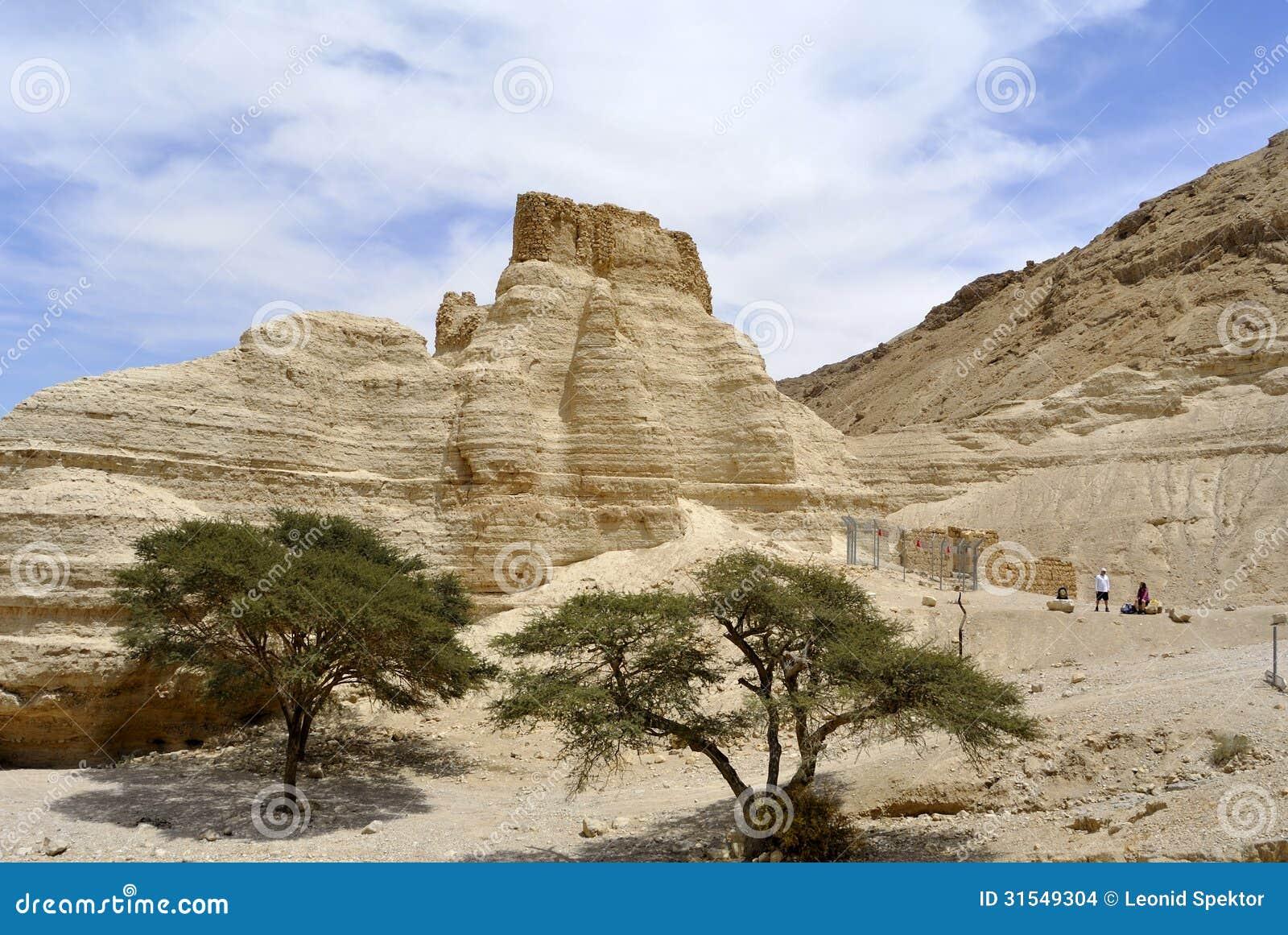 Fortaleza de Zohar en el desierto de Judea.