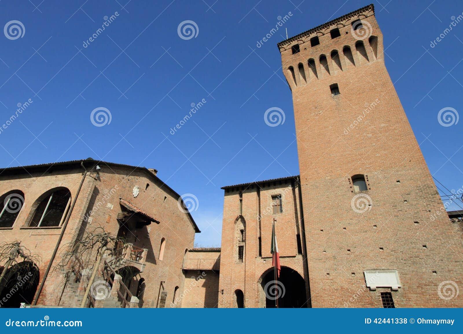 Fortaleza medieval en Módena, Italia