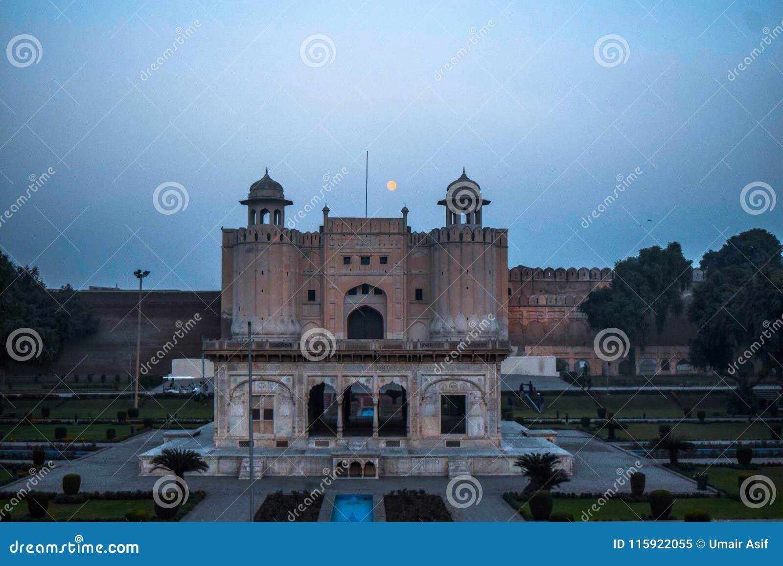 Forte de Lahore com Iqbal Tomb