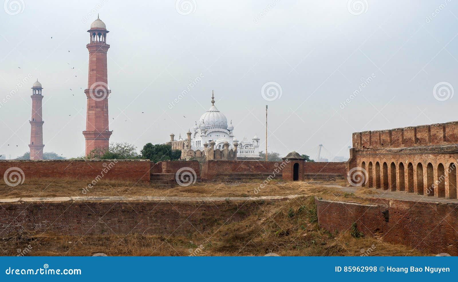Forte de Lahore em Paquistão