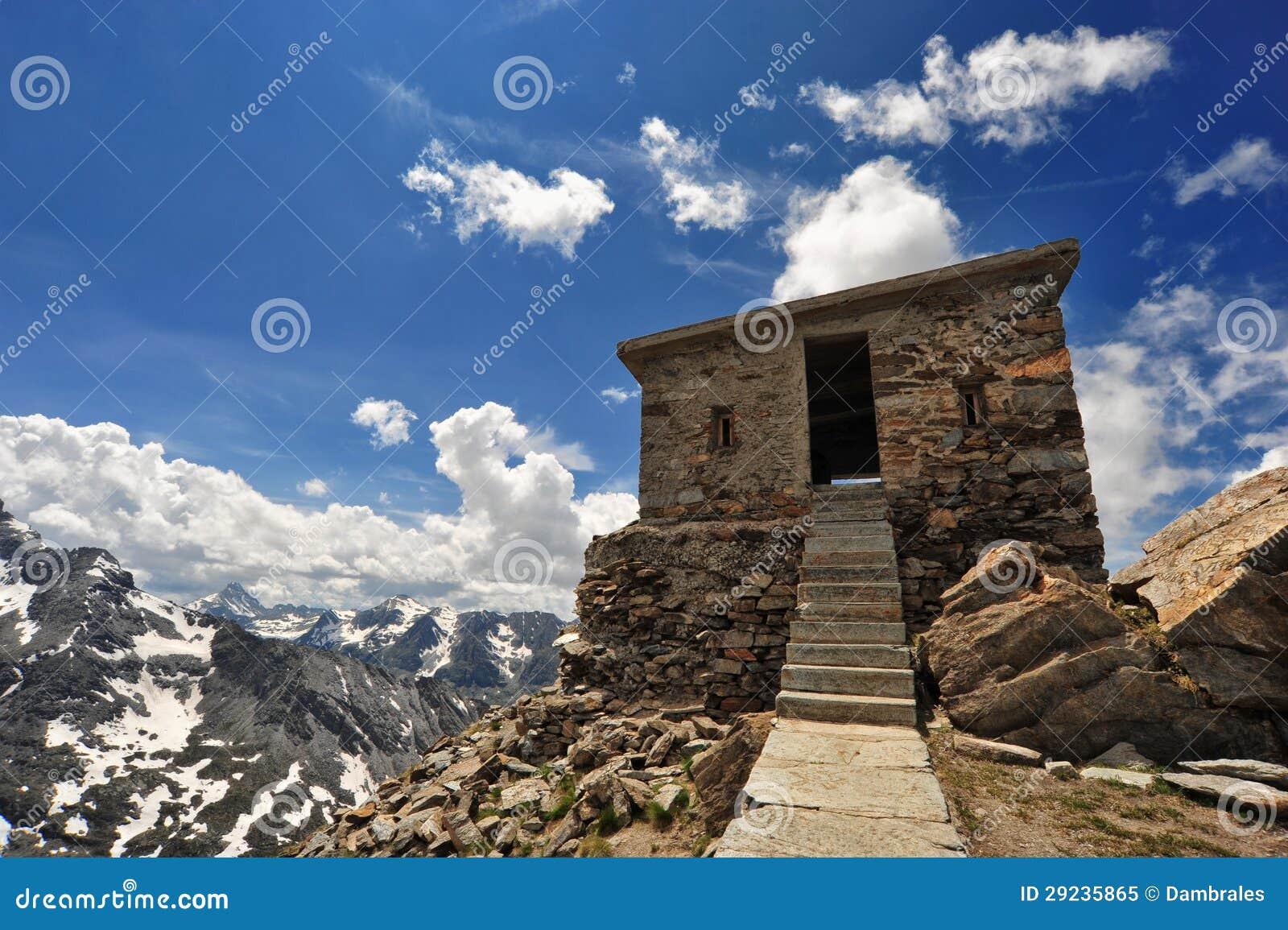 Download Forte Malamot imagem de stock. Imagem de edifício, feriado - 29235865