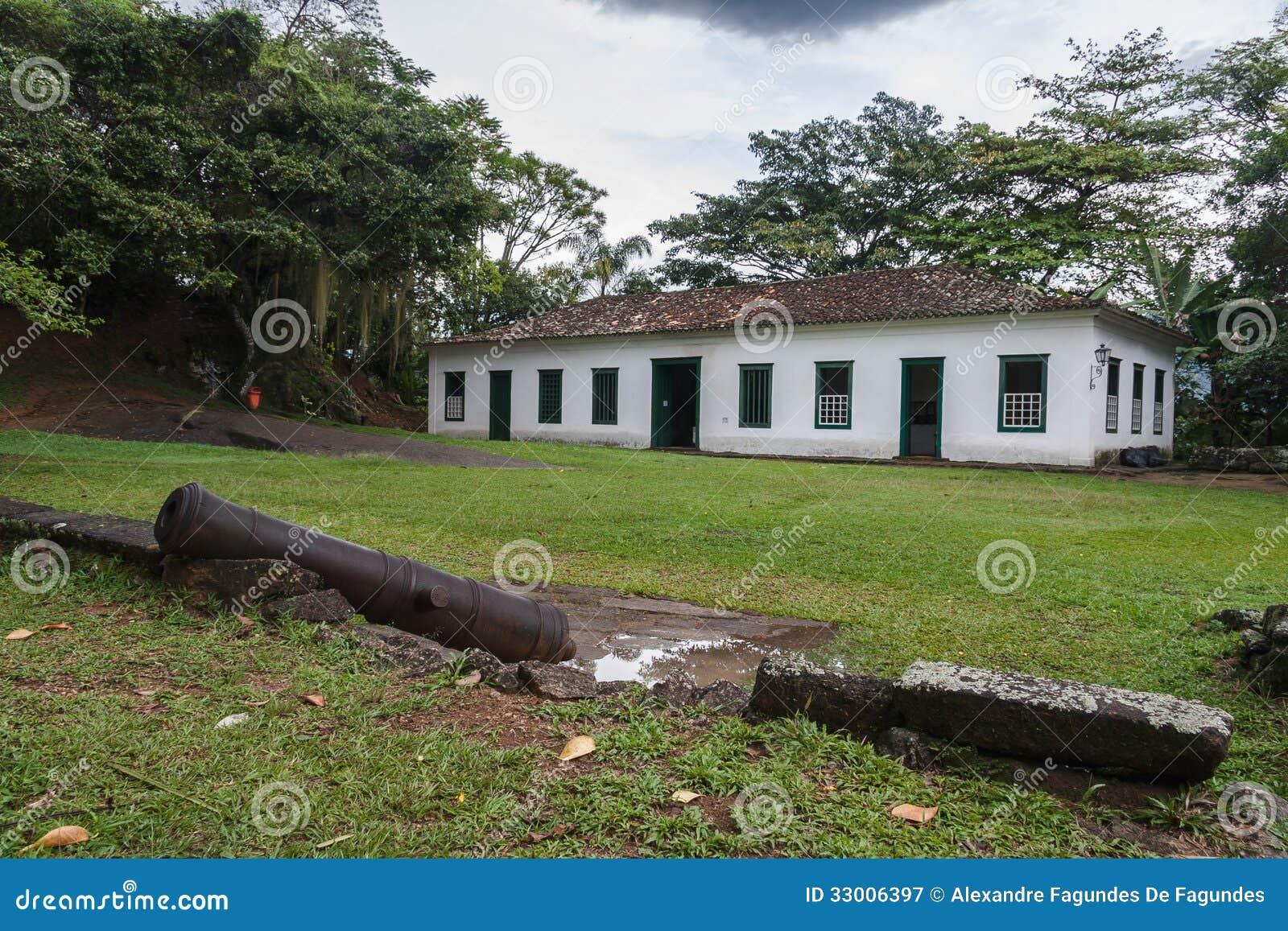 #6D773E  em Paraty em Rio de janeiro em Brasil e em um canhão de bronze 592 Janelas Em Madeira Rio De Janeiro