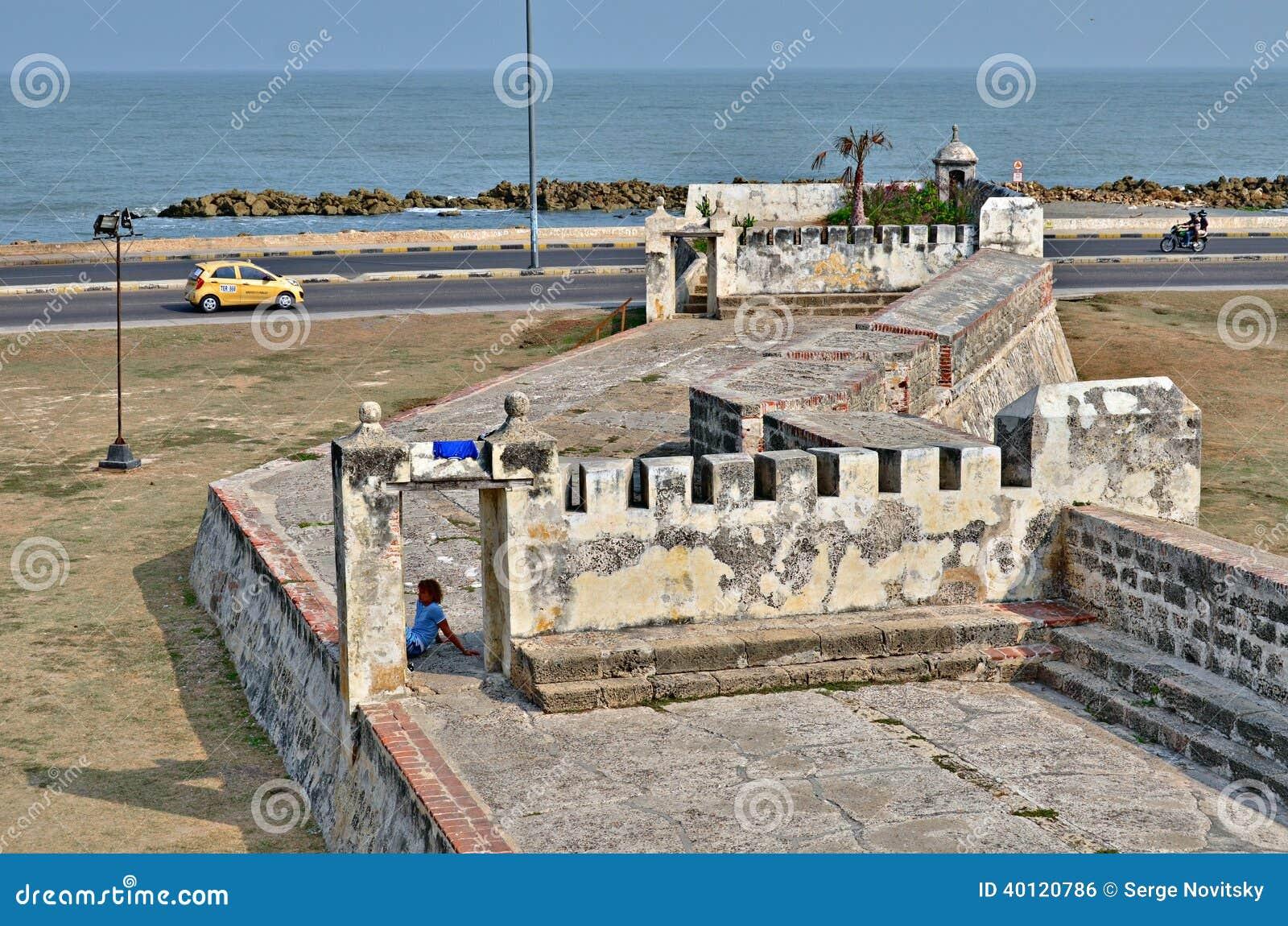 Forteczny Cartagena Kolumbia