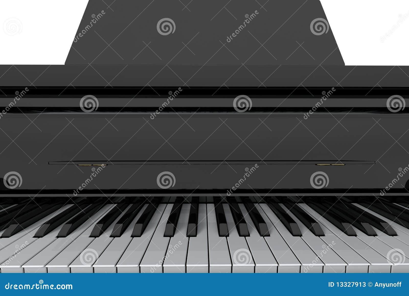 Fortepianowi uroczyści klucze