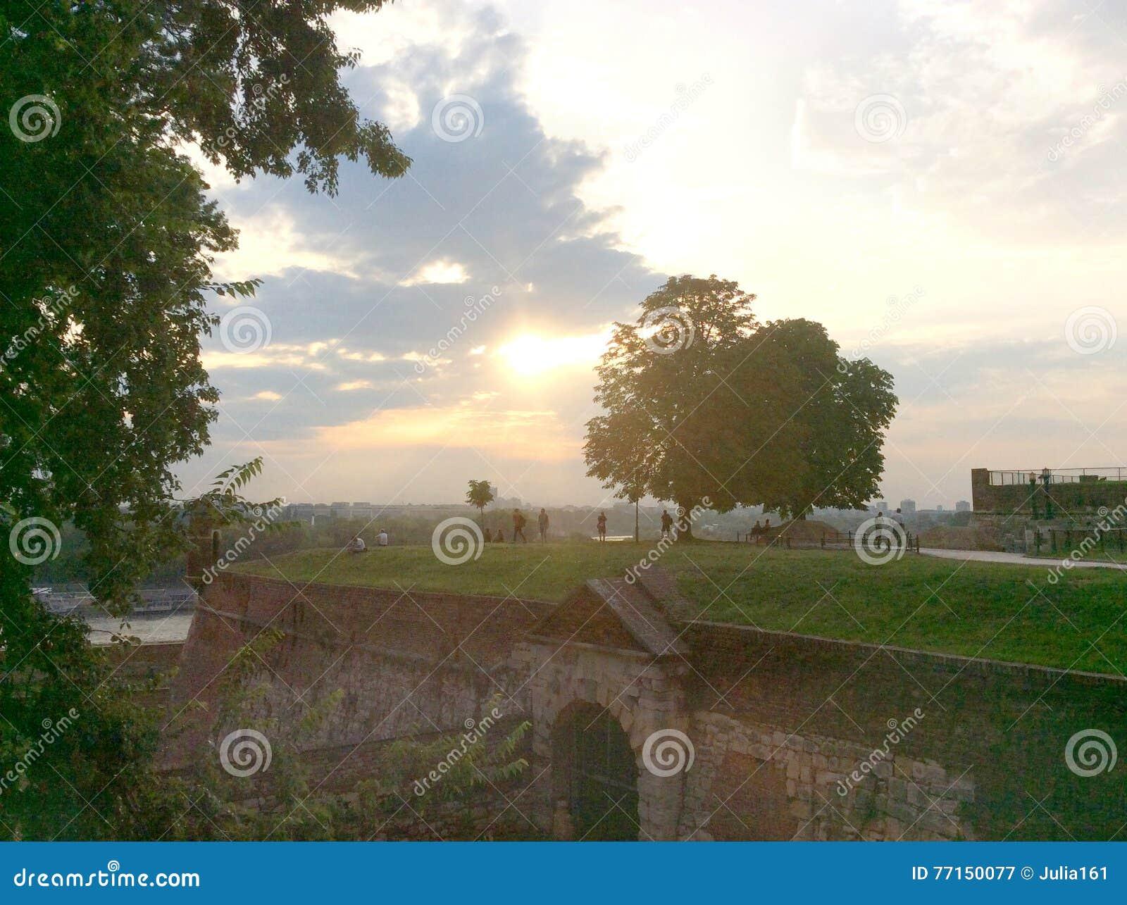 Forteresse de Kalemegdan à Belgrade, Serbie