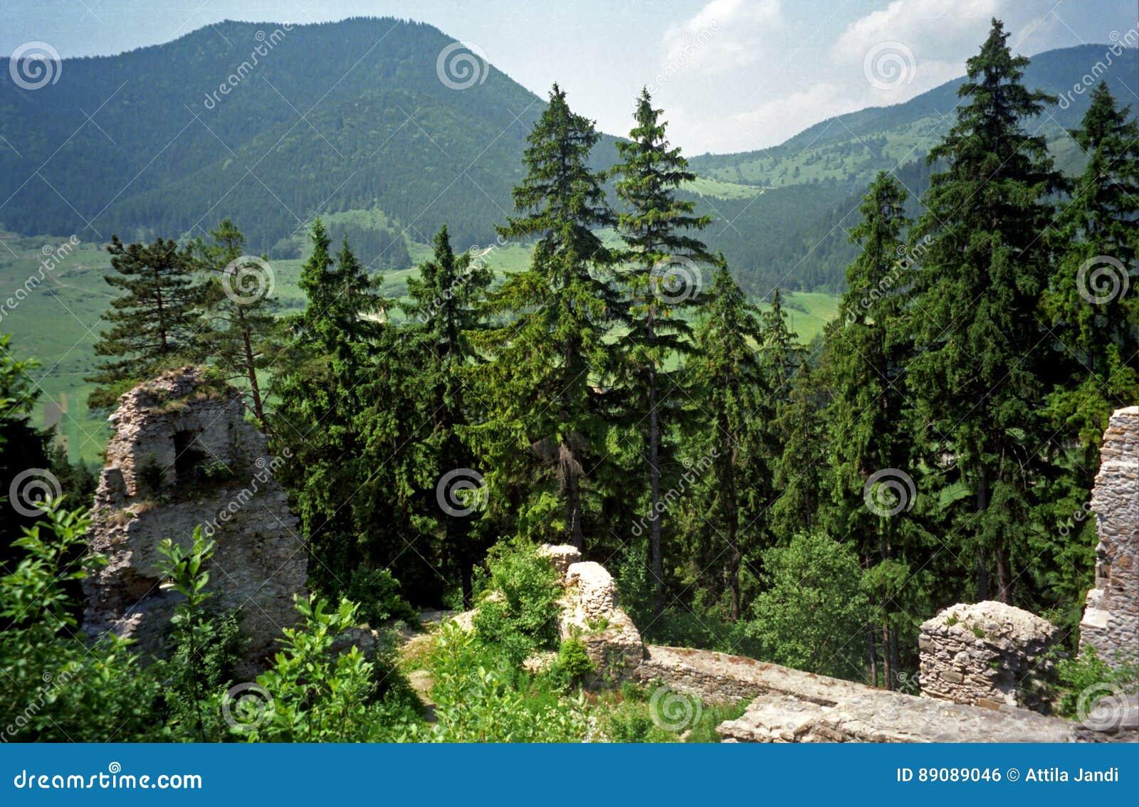 Fortet fördärvar, Likava, Slovakien