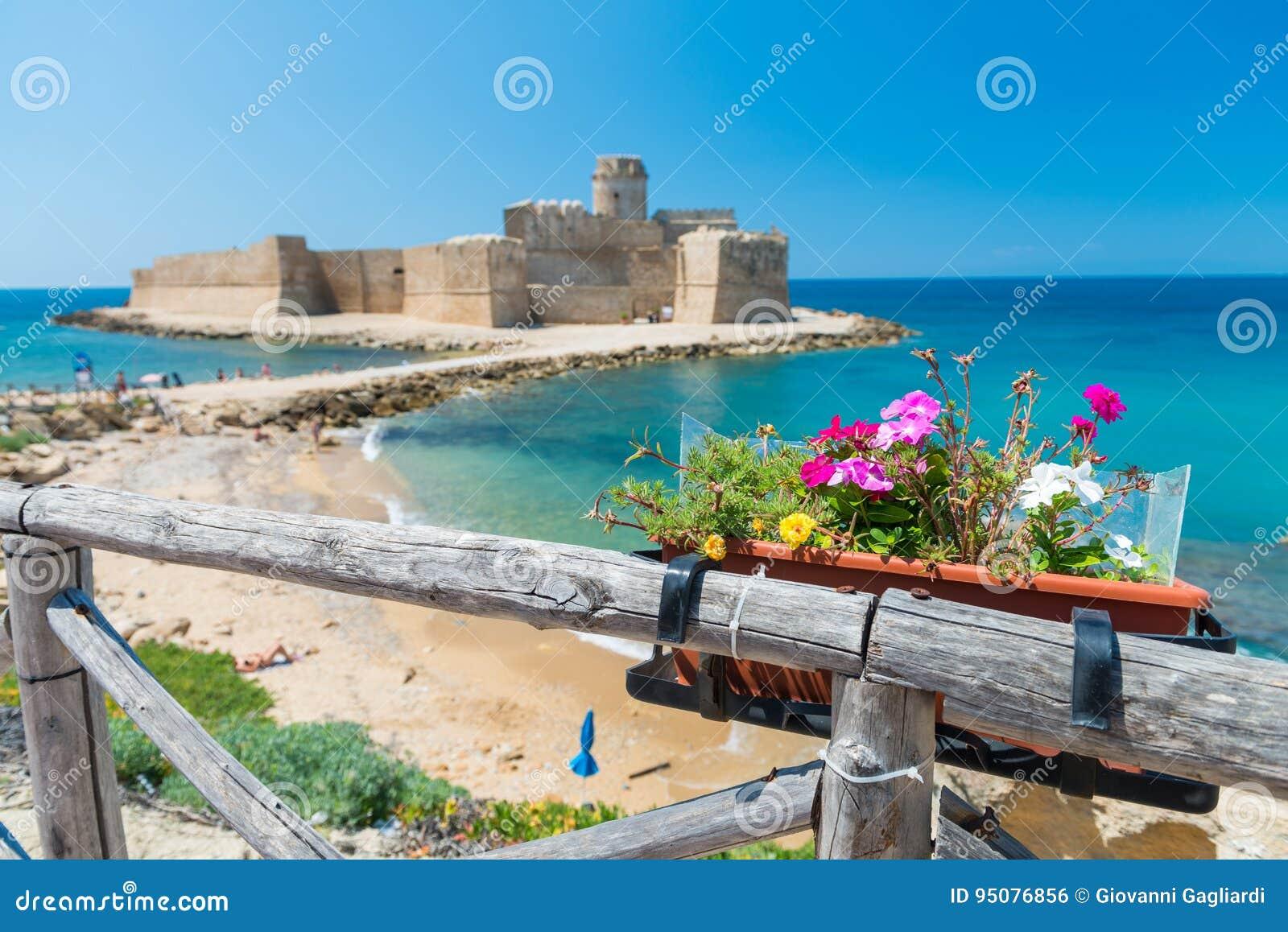 Fortezza Aragonese, Le Castella - Calabria - Italien