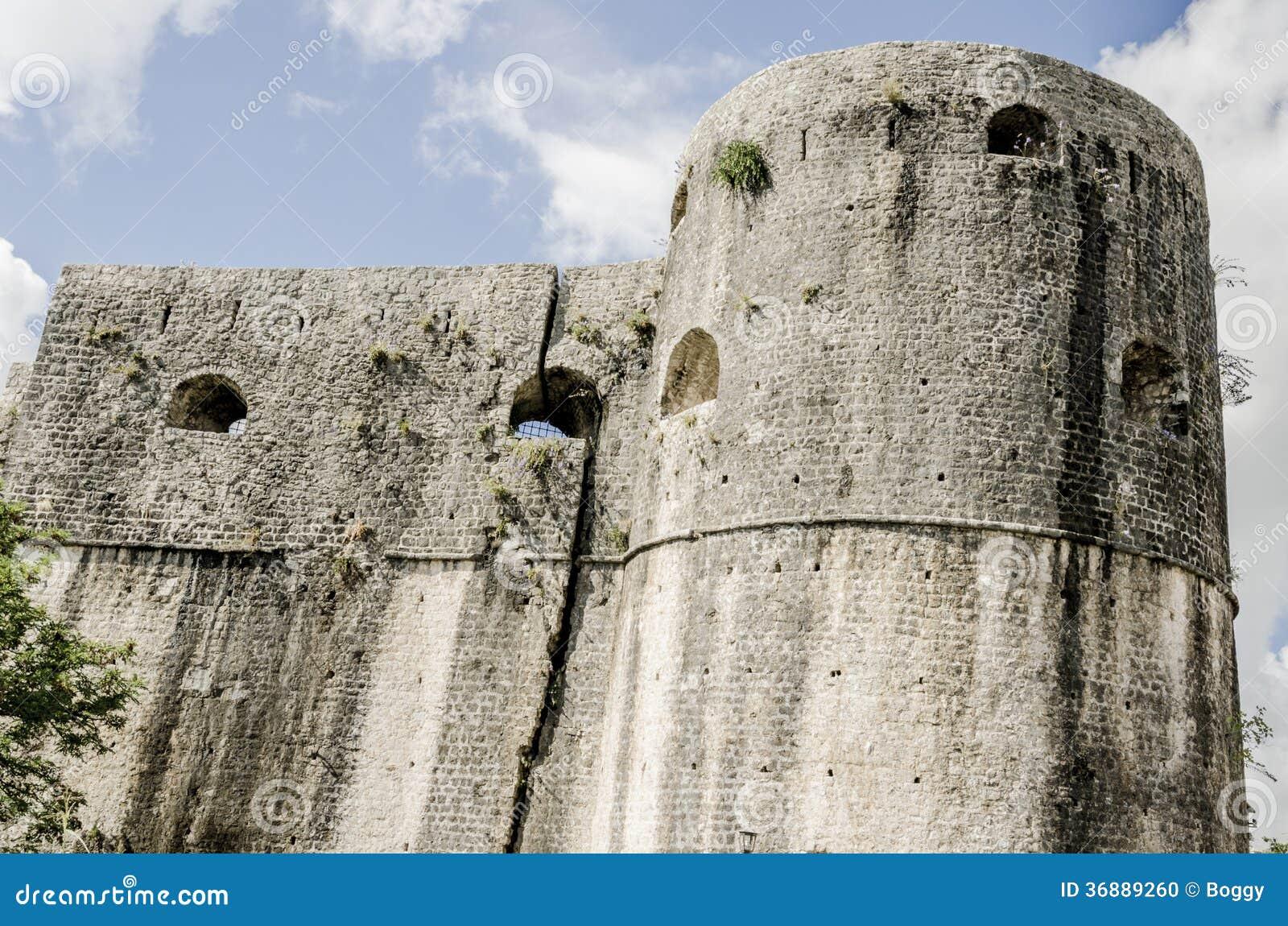 Download Fortezza in Castelnuovo fotografia stock. Immagine di corsa - 36889260