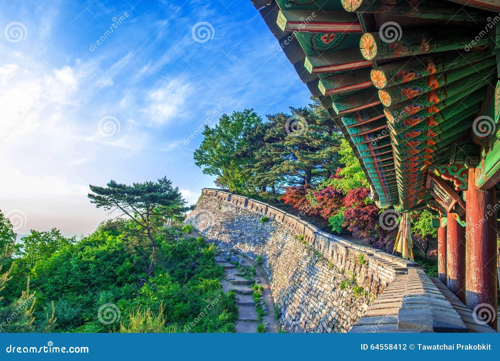 Fortezza di Namhansanseong in Corea del Sud