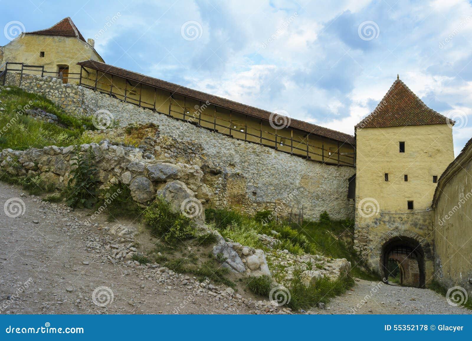 Fortezza di Rasnov dentro