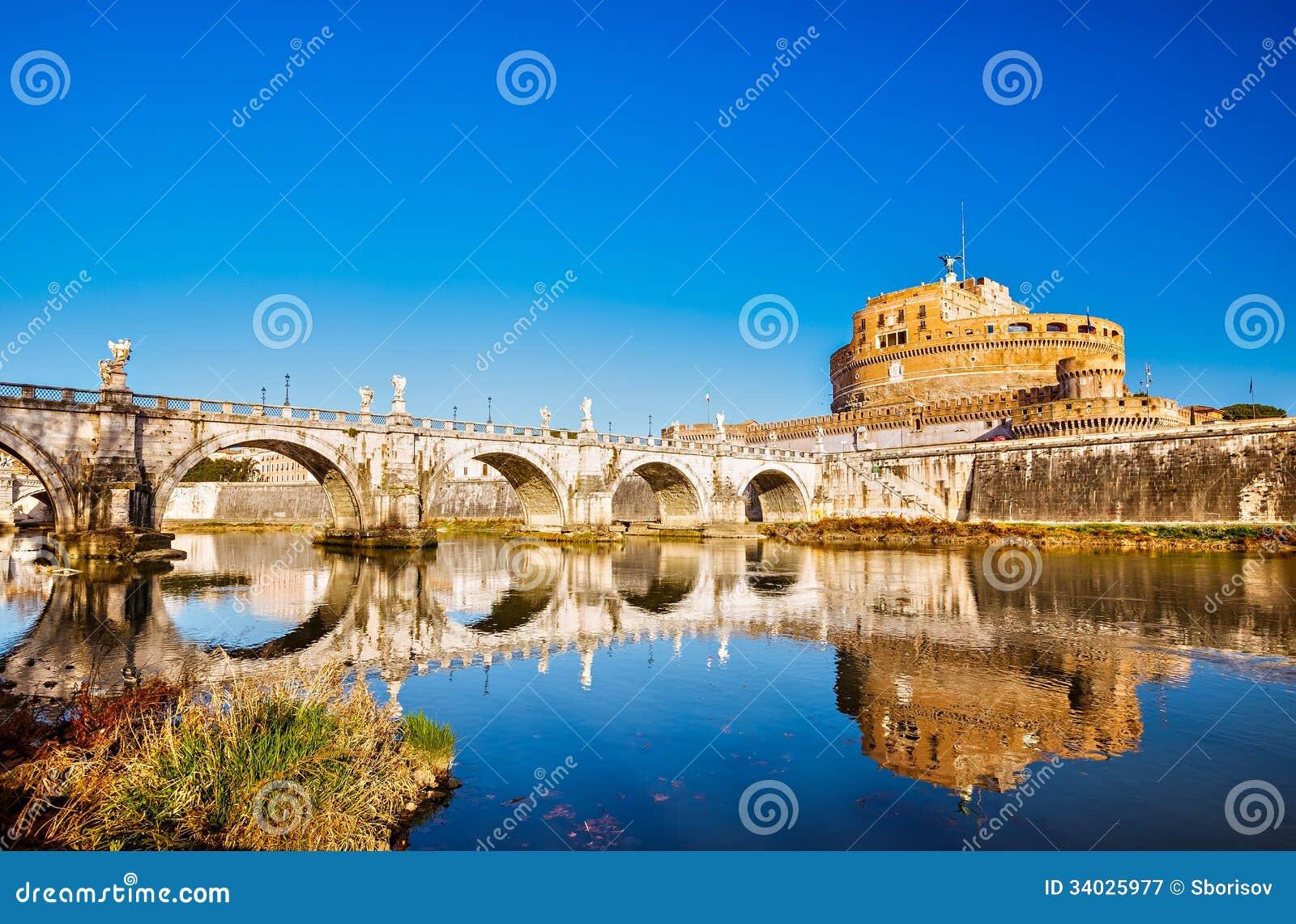 Fortezza di sant 39 angelo roma immagine stock immagine for Europeo arredamenti mosciano sant angelo