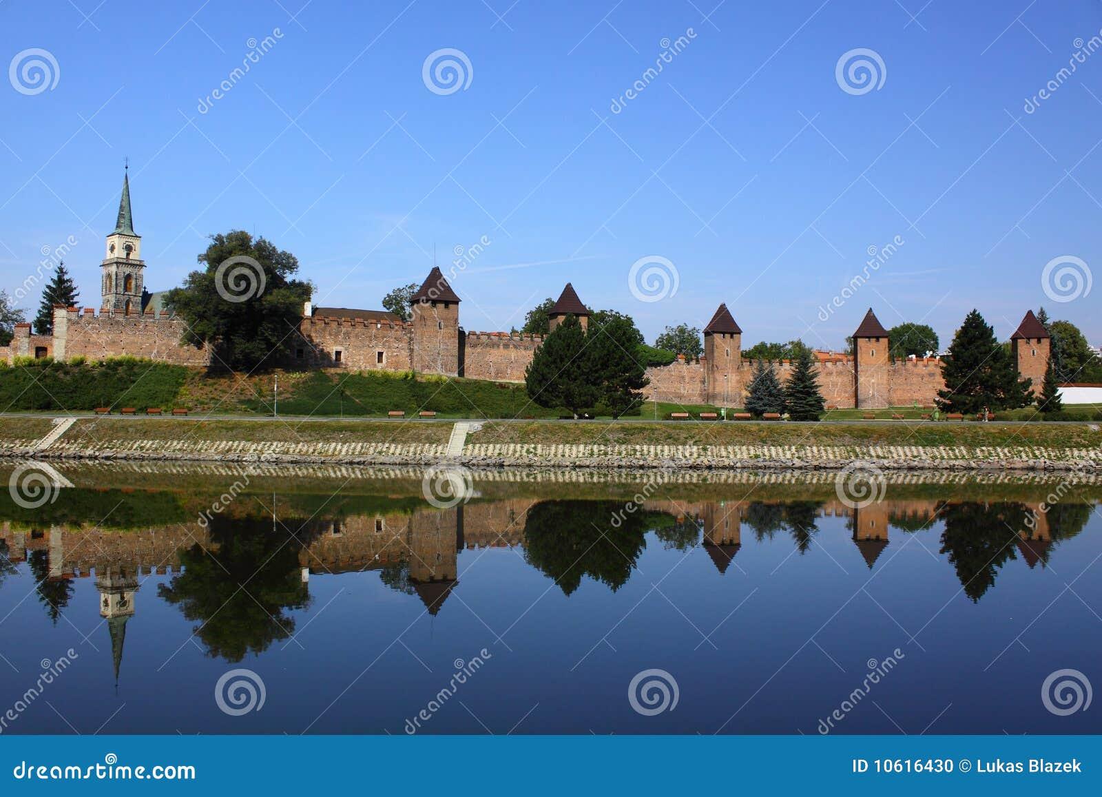 Fortification medieval em Nymburk